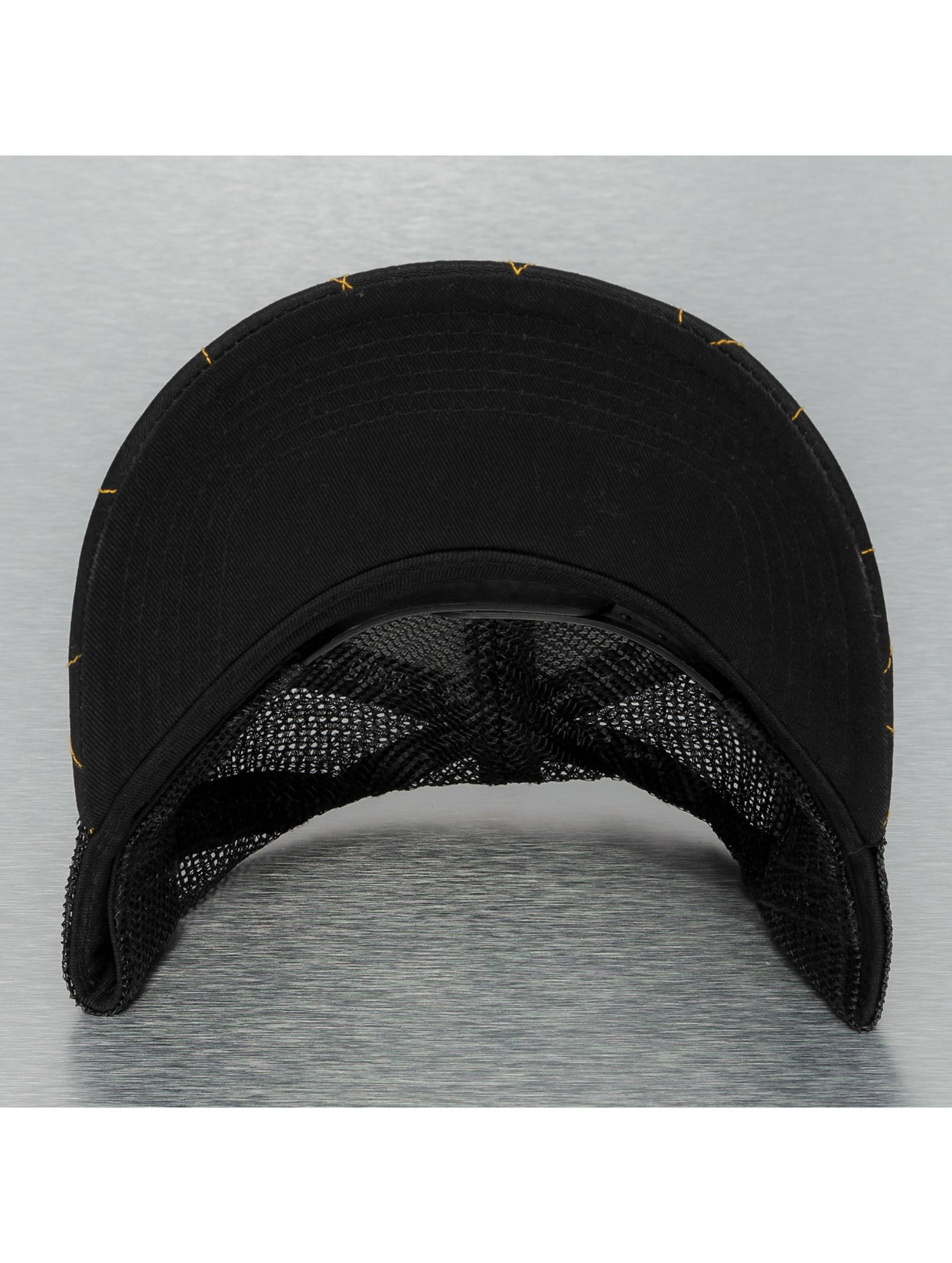 Djinns Casquette Trucker mesh Hunter High Fitted noir