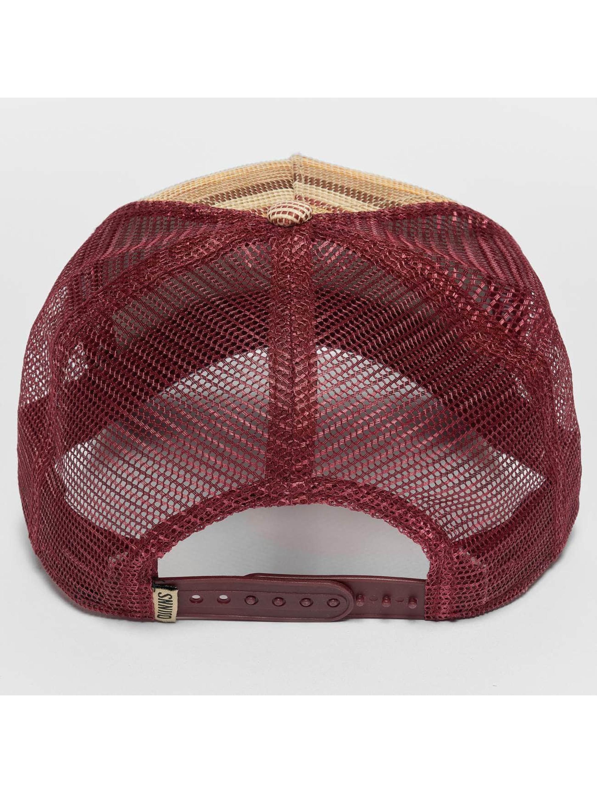 Djinns Casquette Trucker mesh Thaibast rouge