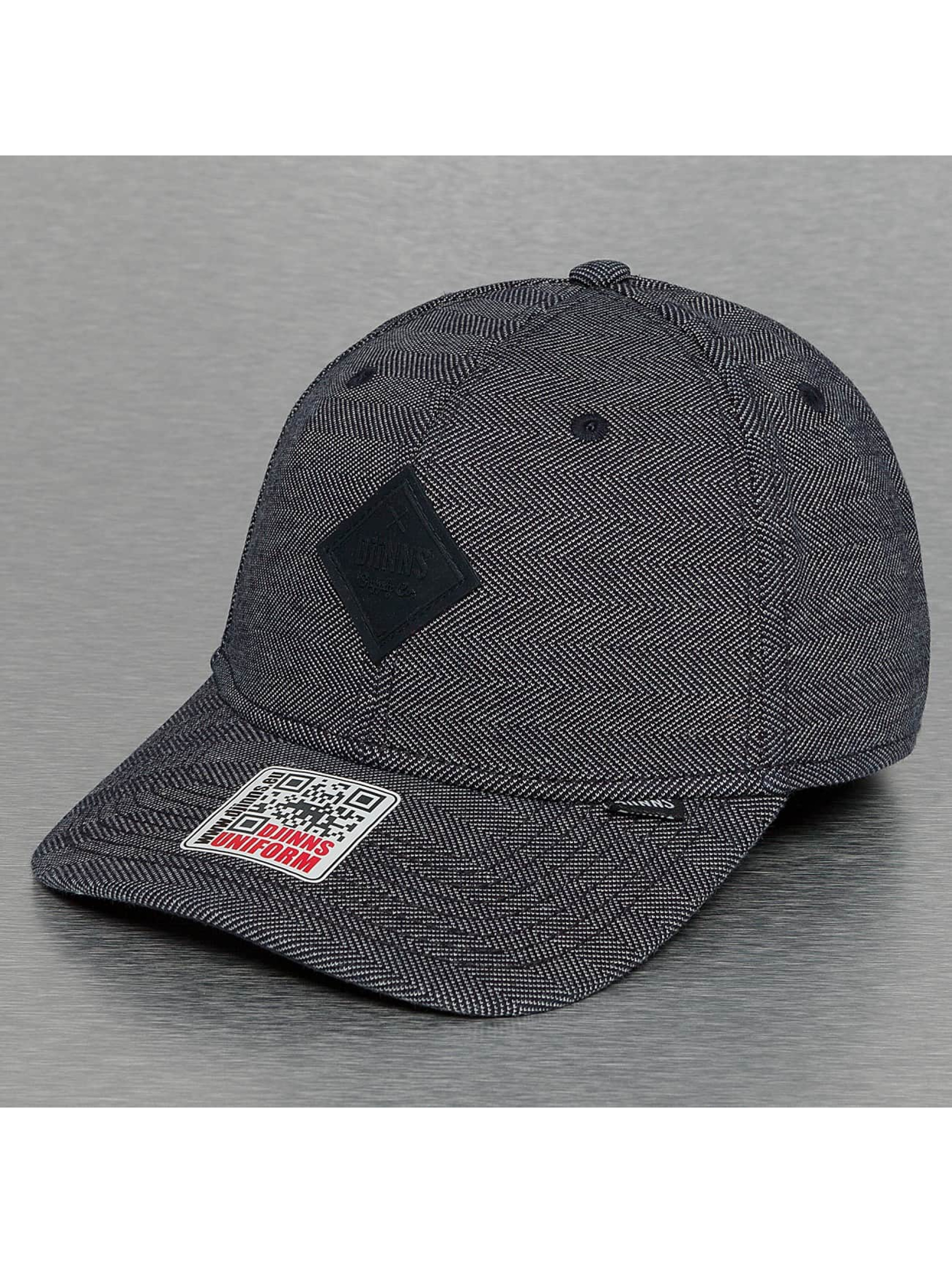 Djinns Flexfitted Cap Fishgrade A-Flex blau