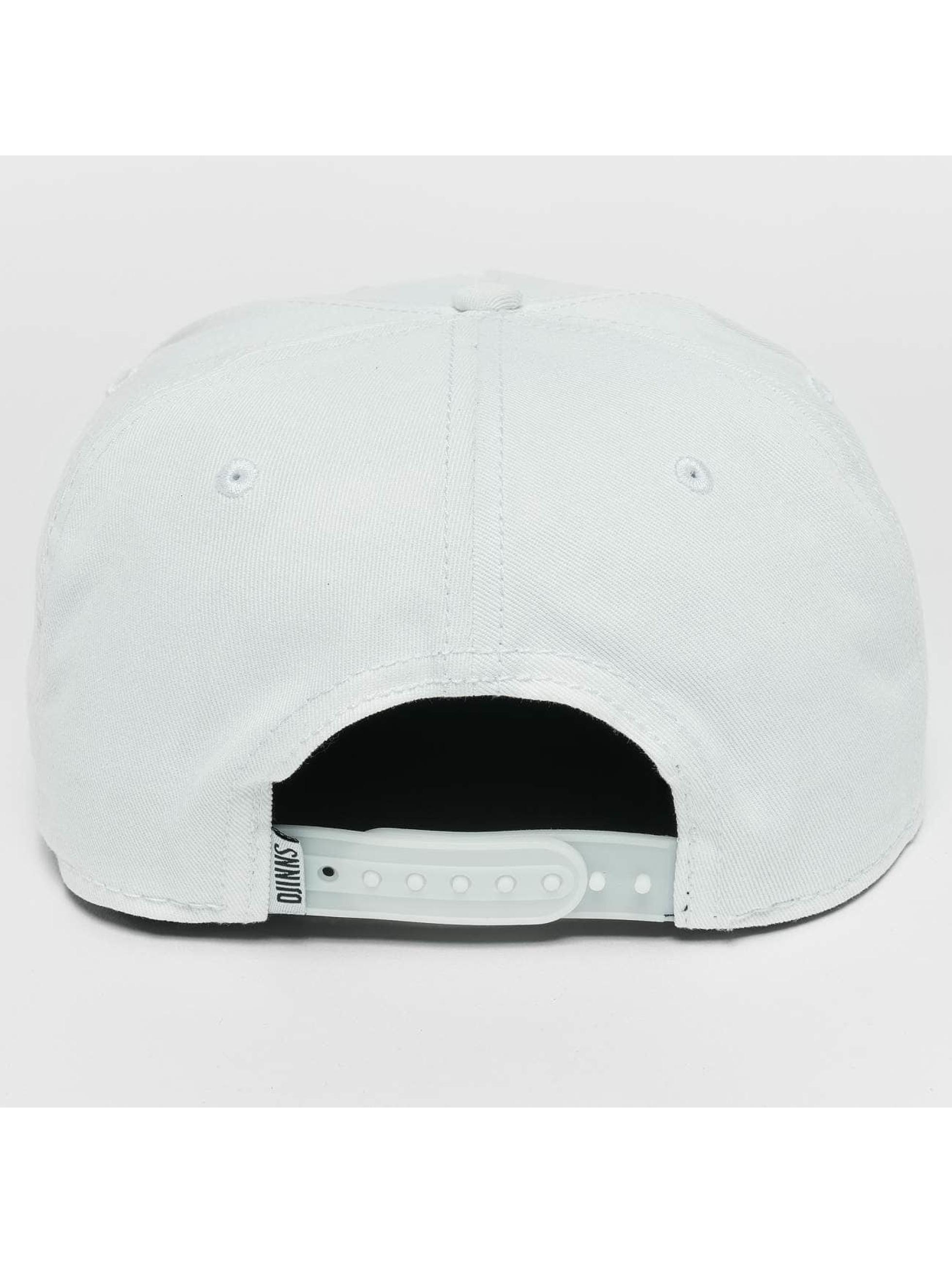 Djinns Snapback Cap Rubber Aztek bianco