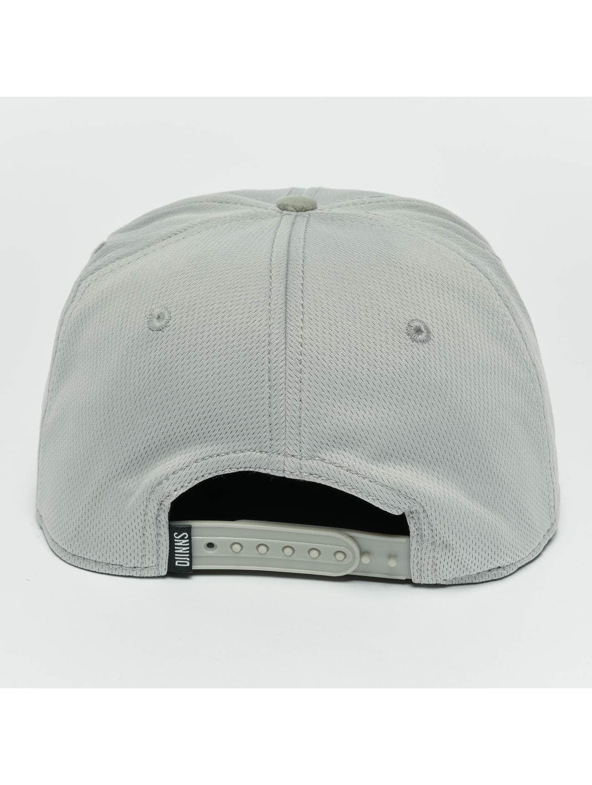 Djinns Snapback Cap Dry Knt grigio