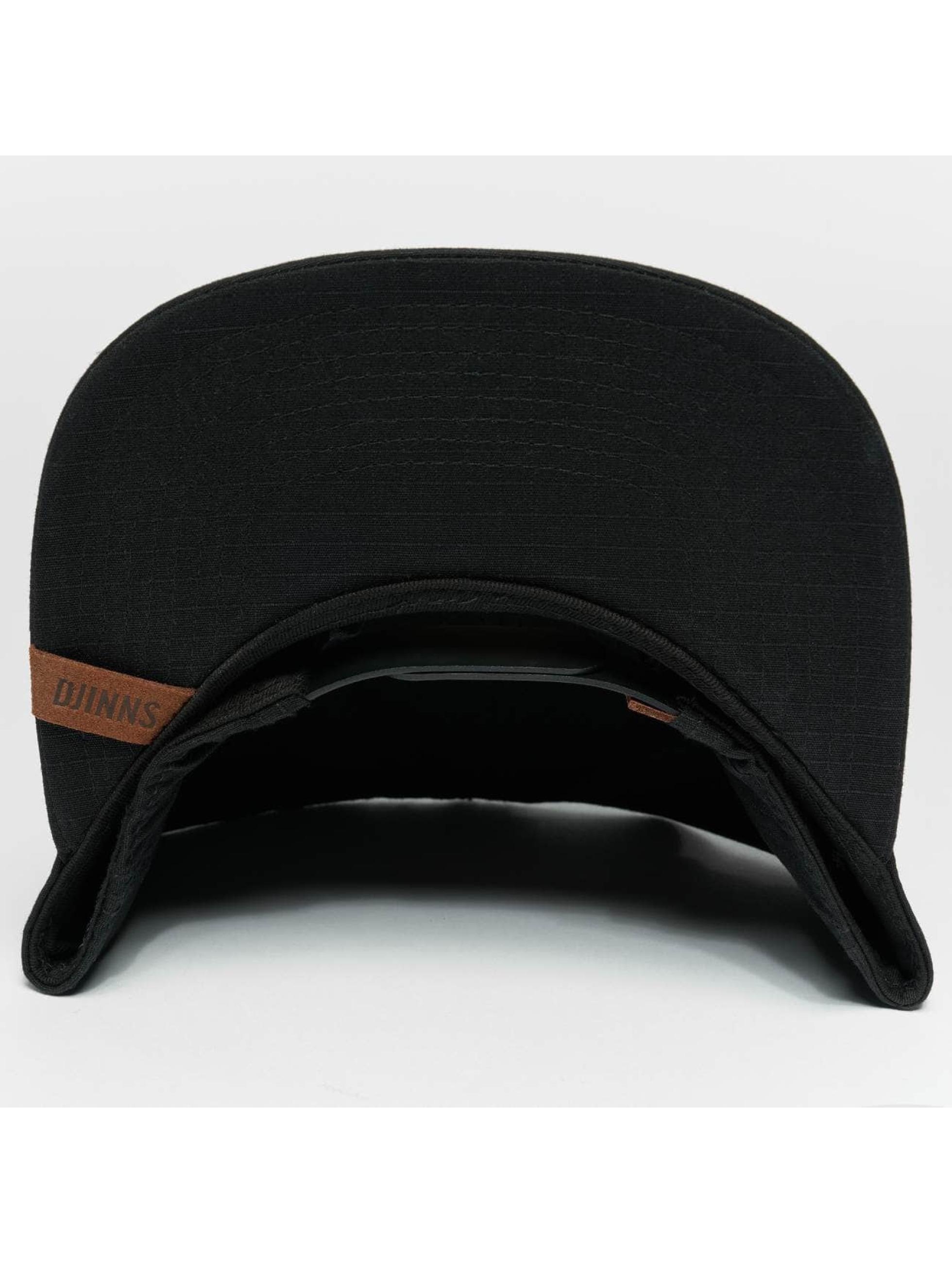 Djinns Snapback Cap M-Rib nero
