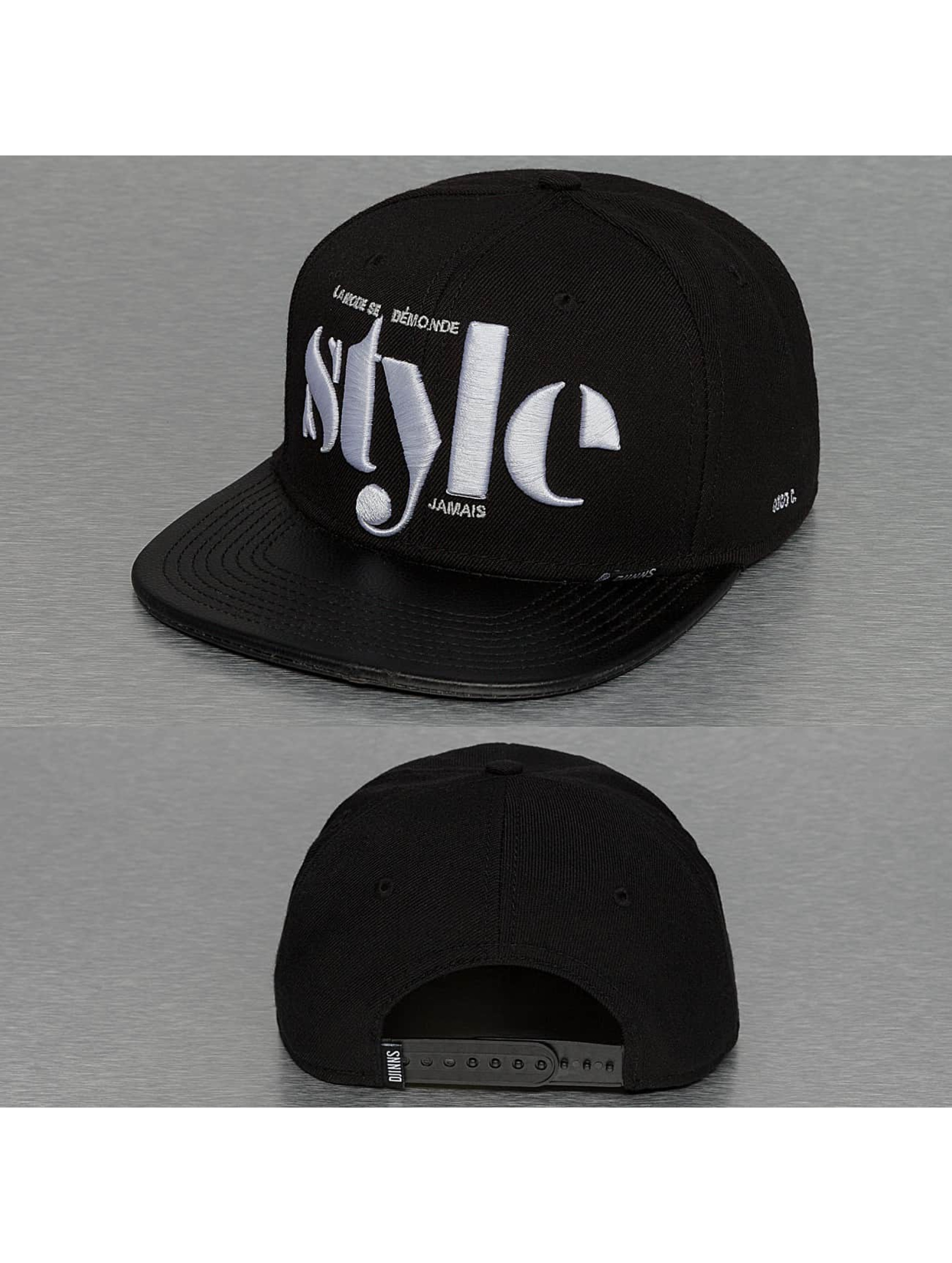 Djinns Snapback Cap Citation Coco S schwarz