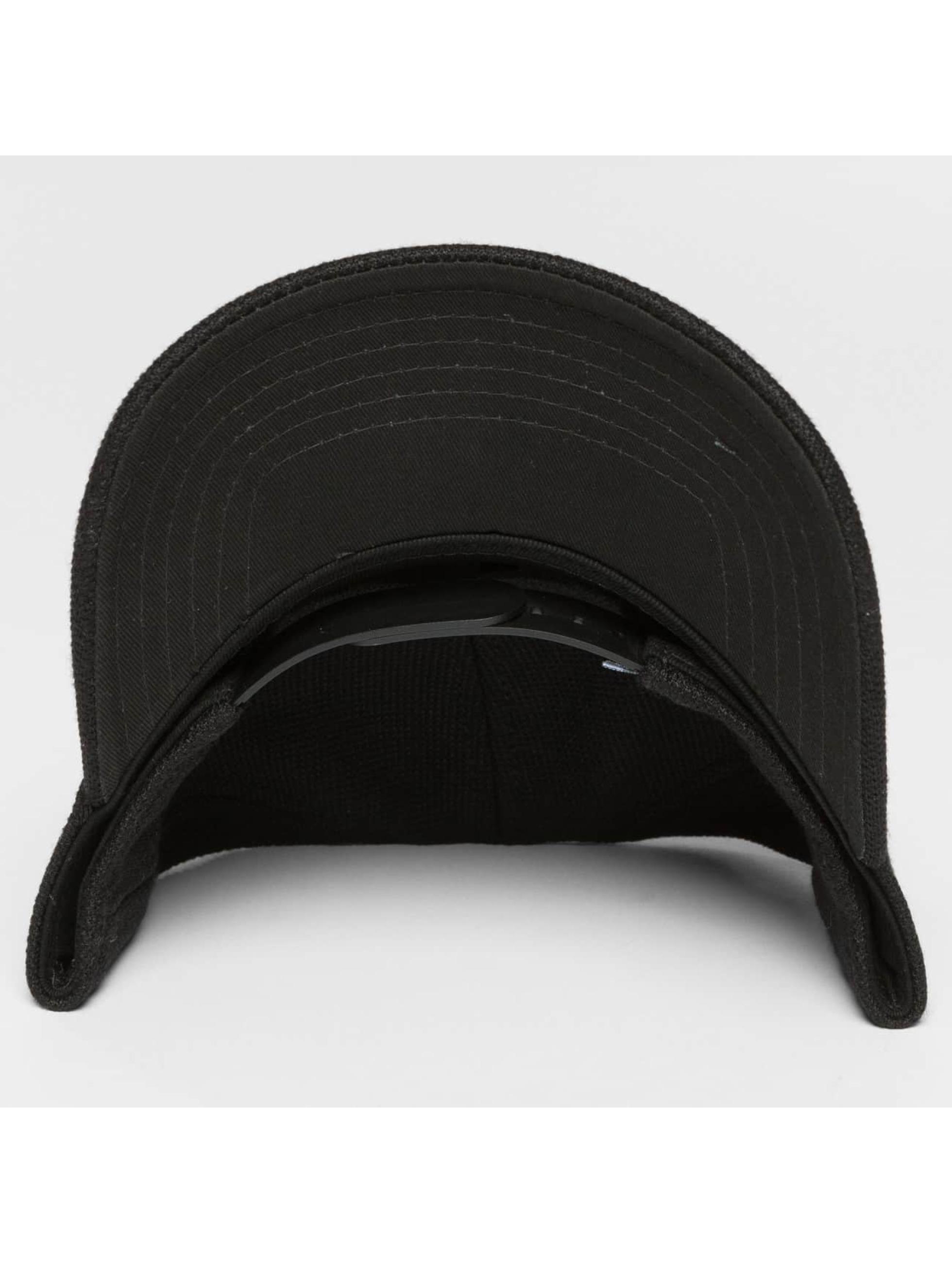 Djinns Snapback Cap HFT Full Bubble Piquee schwarz