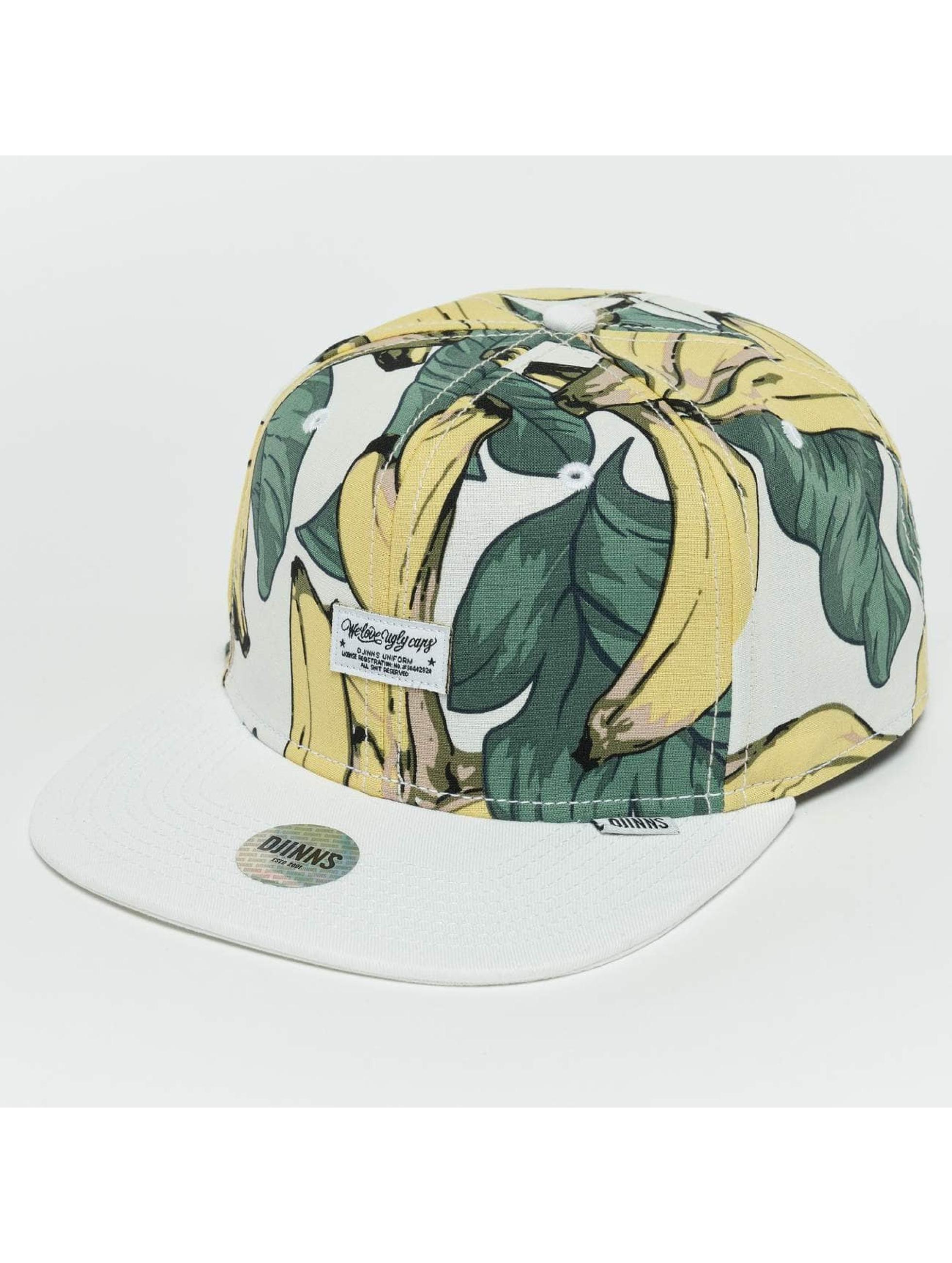 Djinns Snapback Caps Banana barvitý