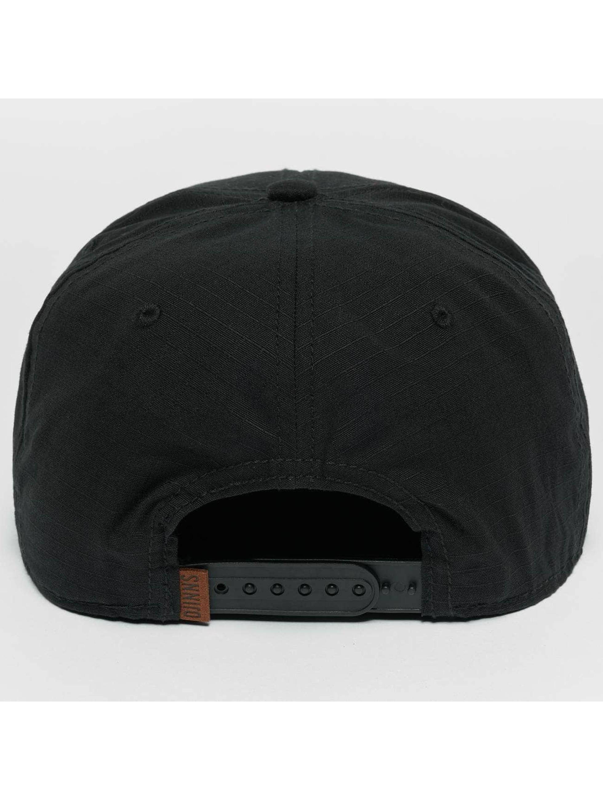 Djinns Snapback Caps M-Rib czarny