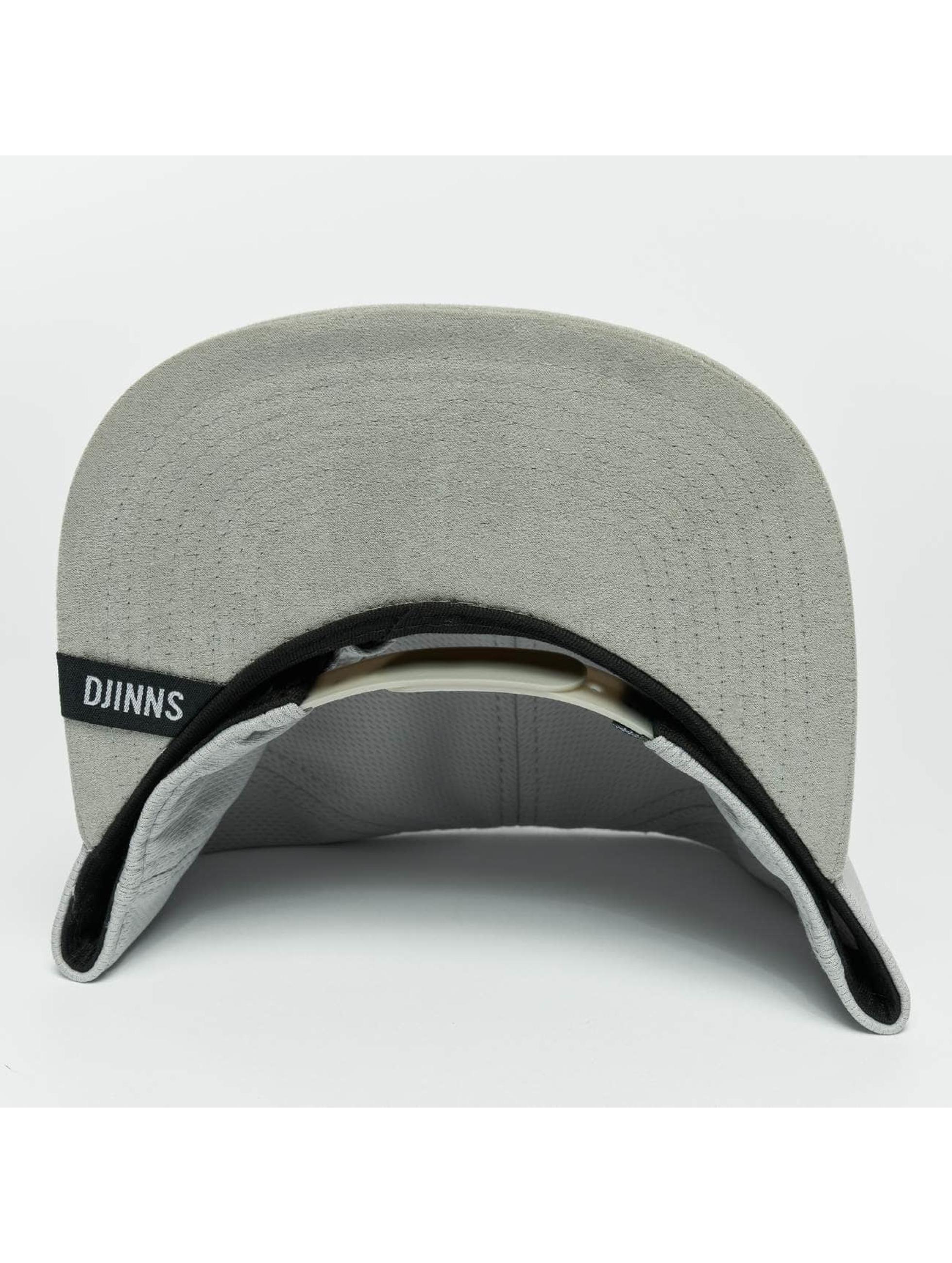Djinns Snapback Caps Dry Knt grå