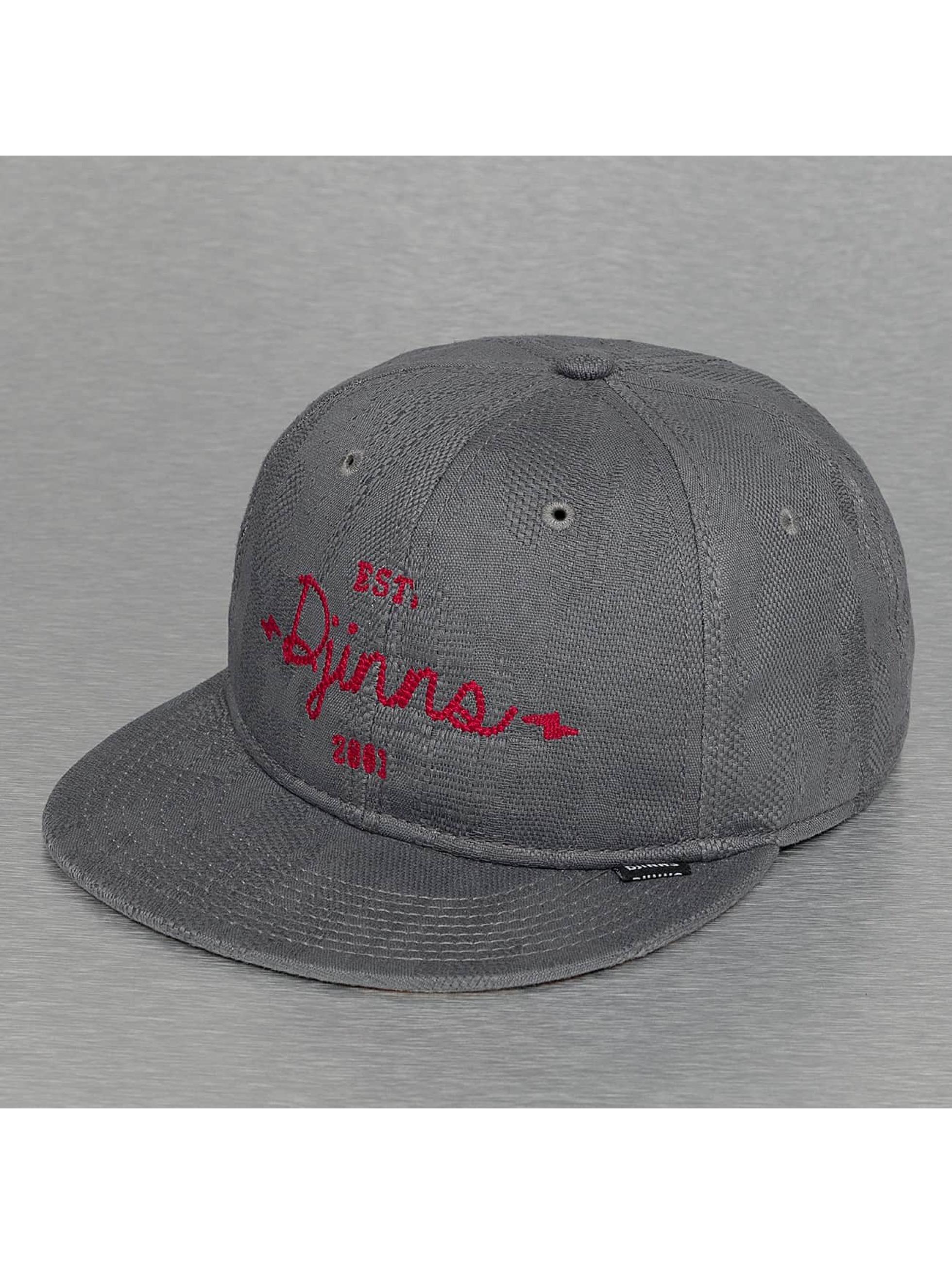 Djinns Snapback Caps Soft Classic harmaa