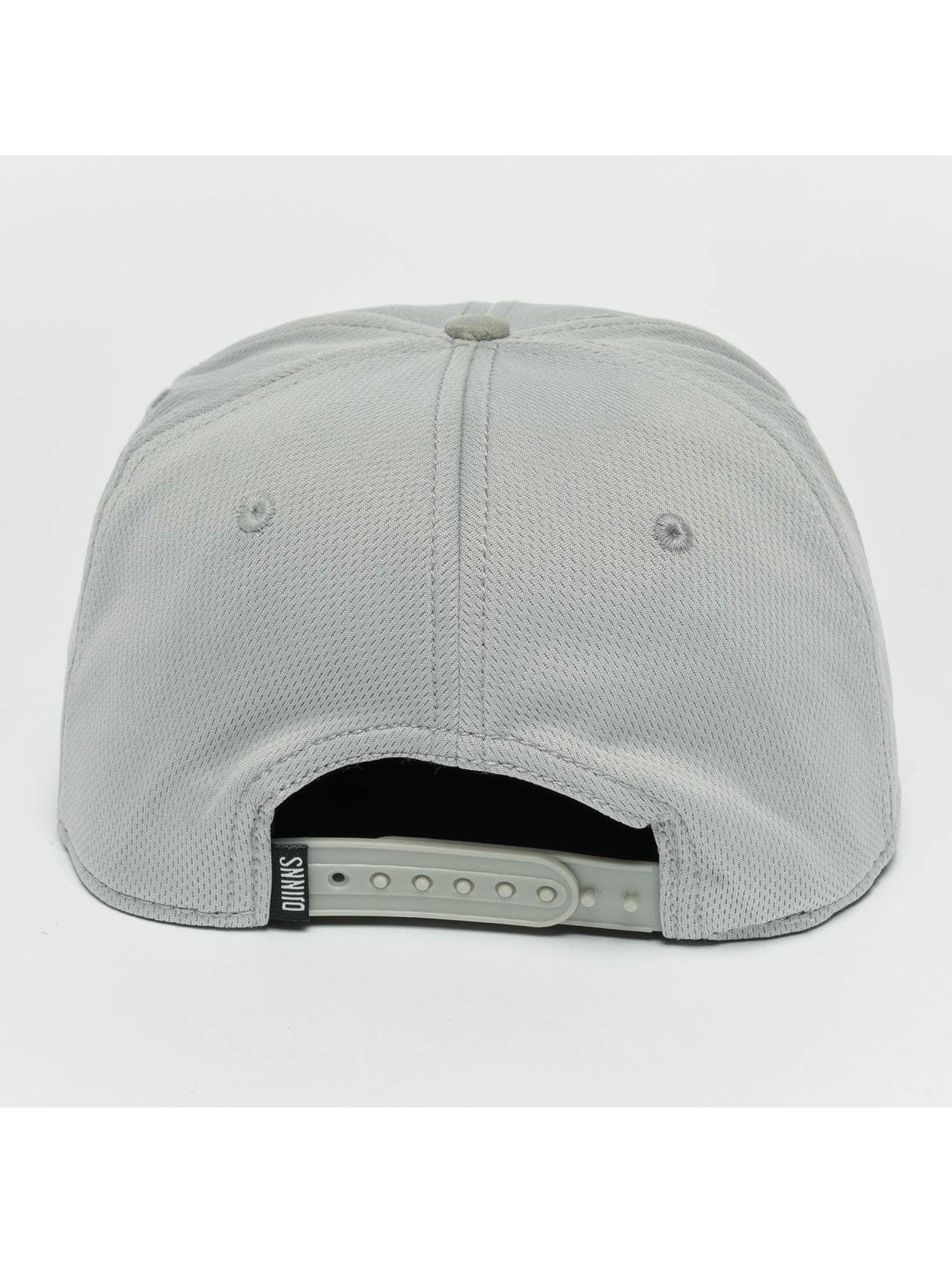 Djinns Snapback Caps Dry Knt harmaa