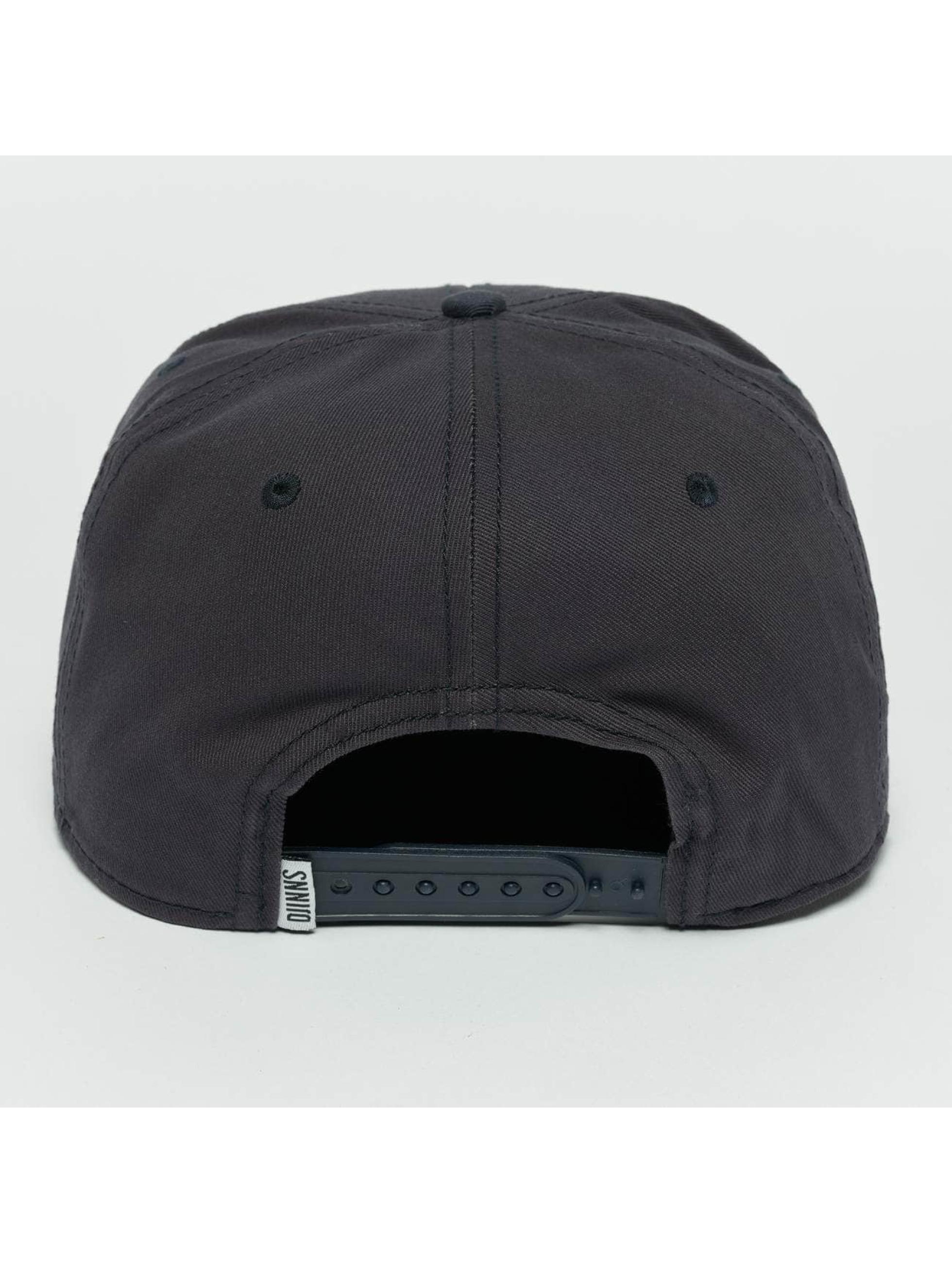 Djinns Snapback Caps CP Pineapple modrý