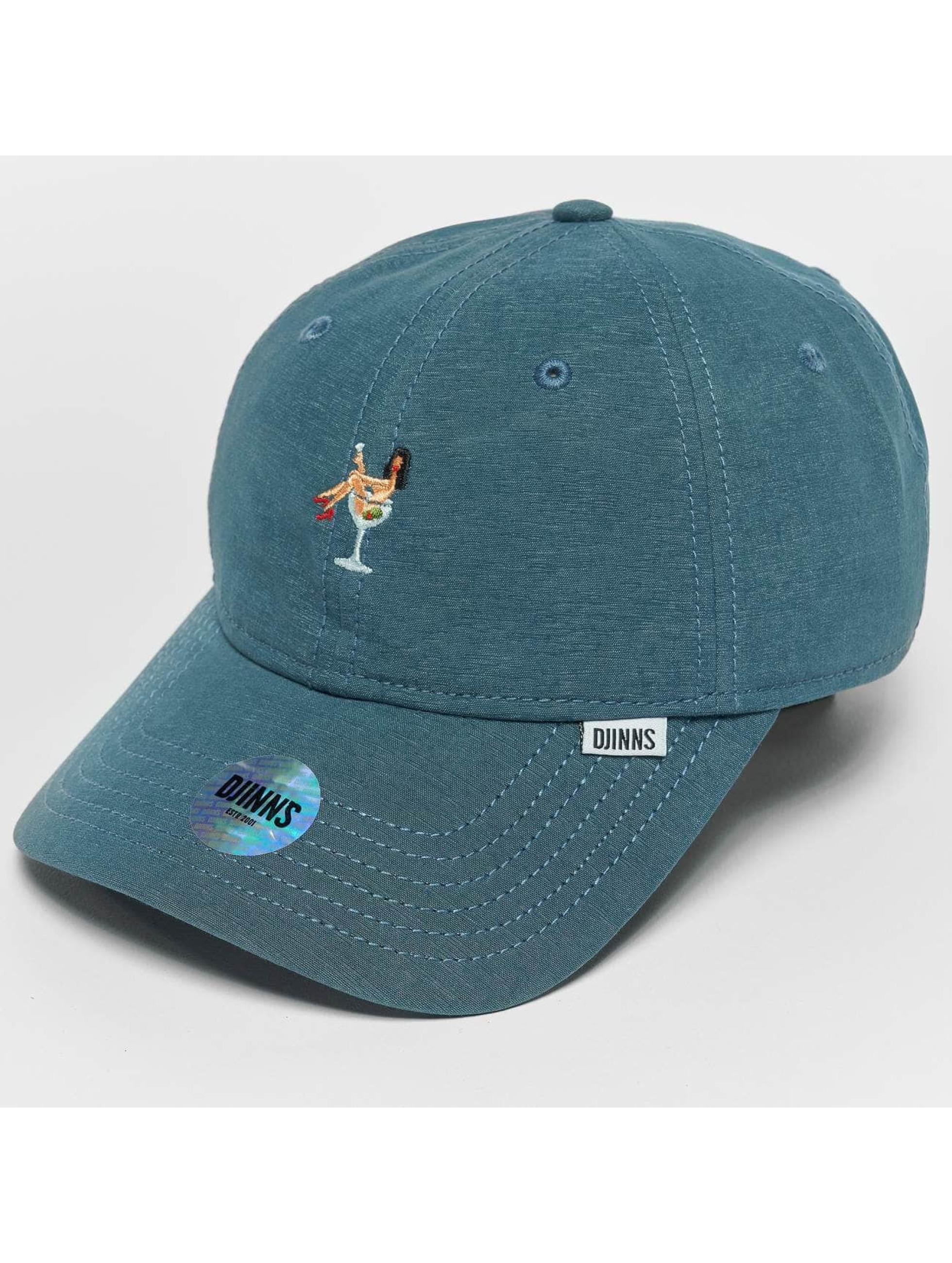 Djinns Snapback Caps Jersey Girl Dad modrý