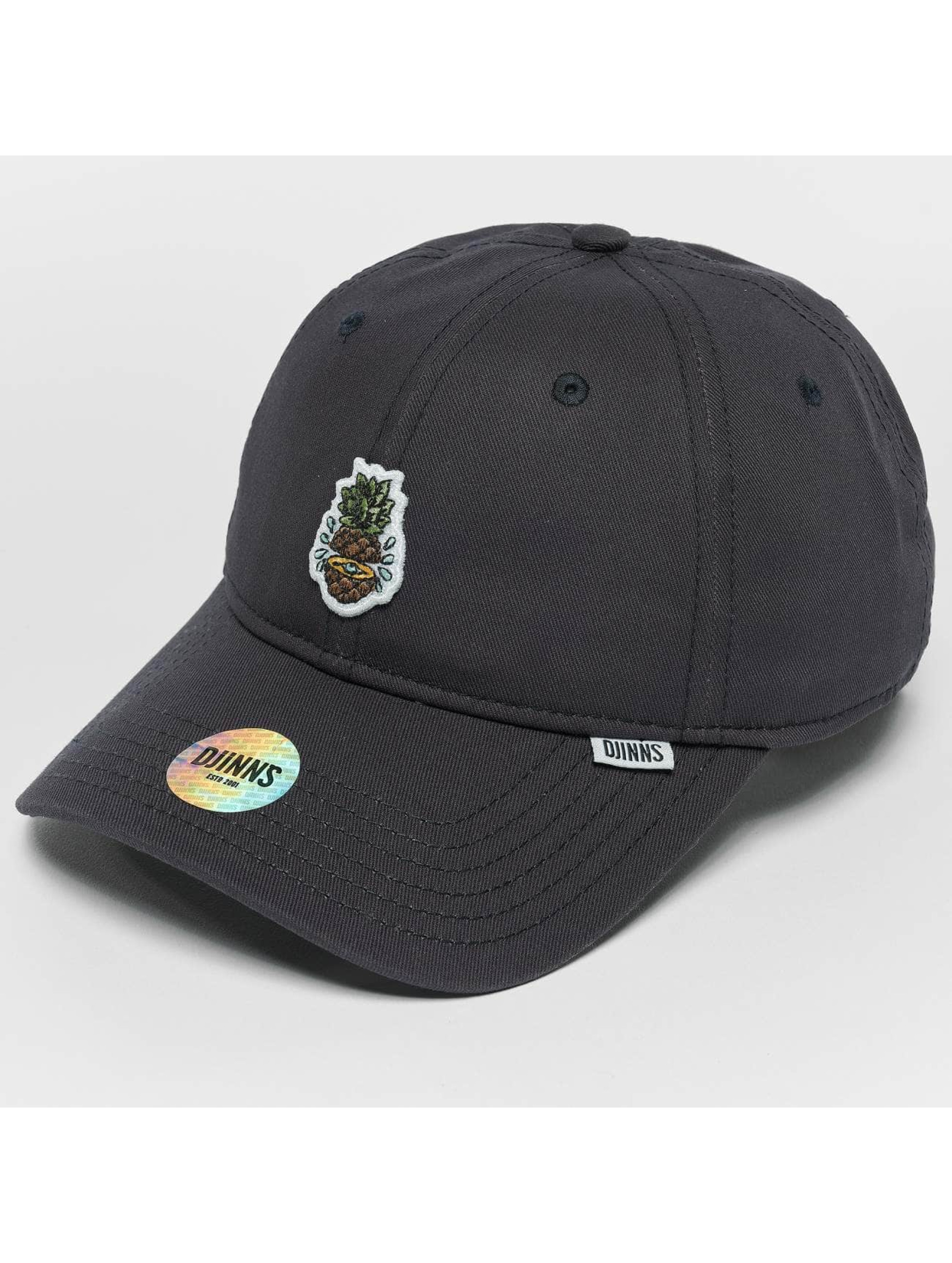 Djinns Snapback Caps Pineapple niebieski