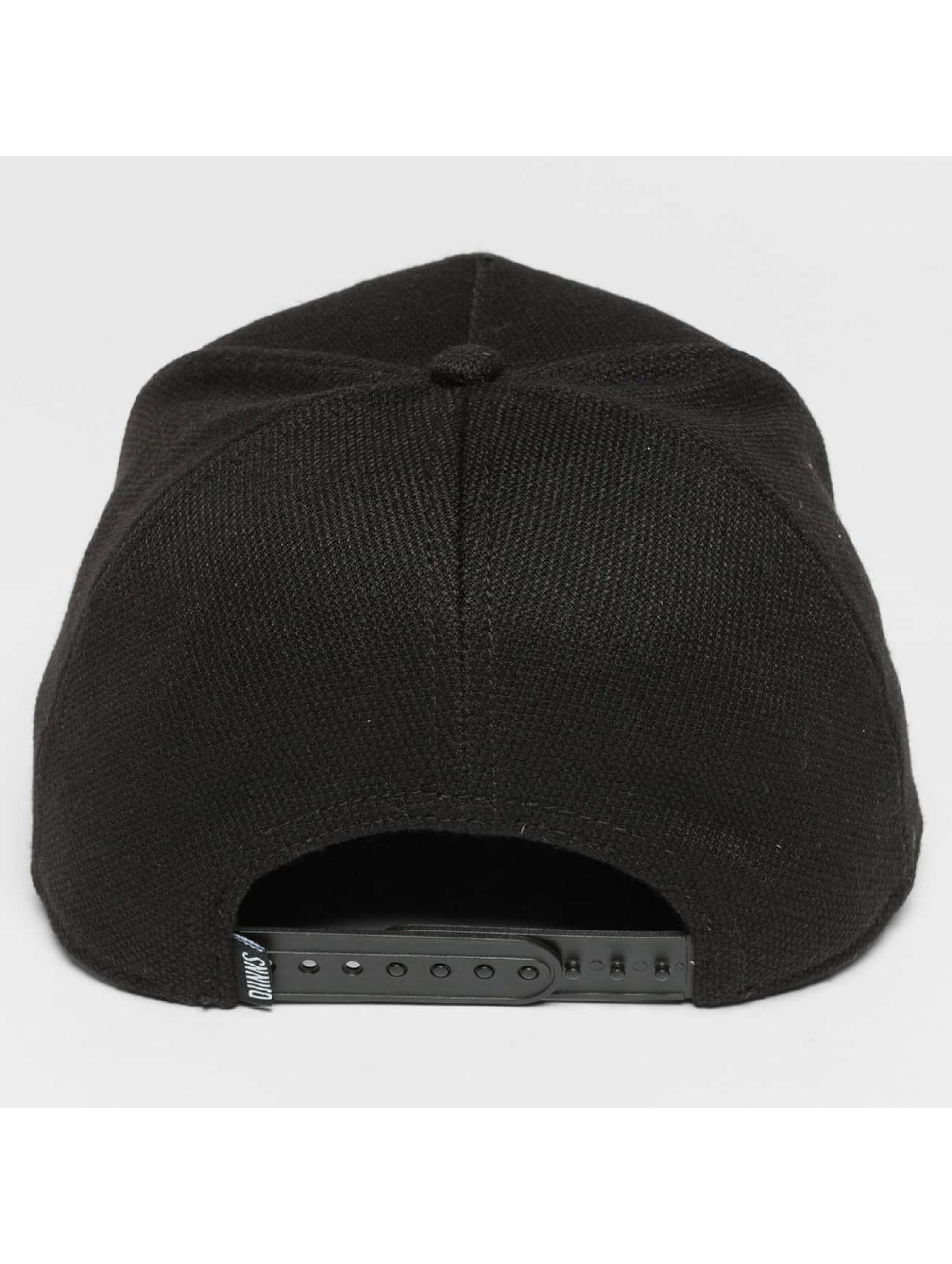 Djinns Snapback Caps HFT Full Bubble Piquee svart
