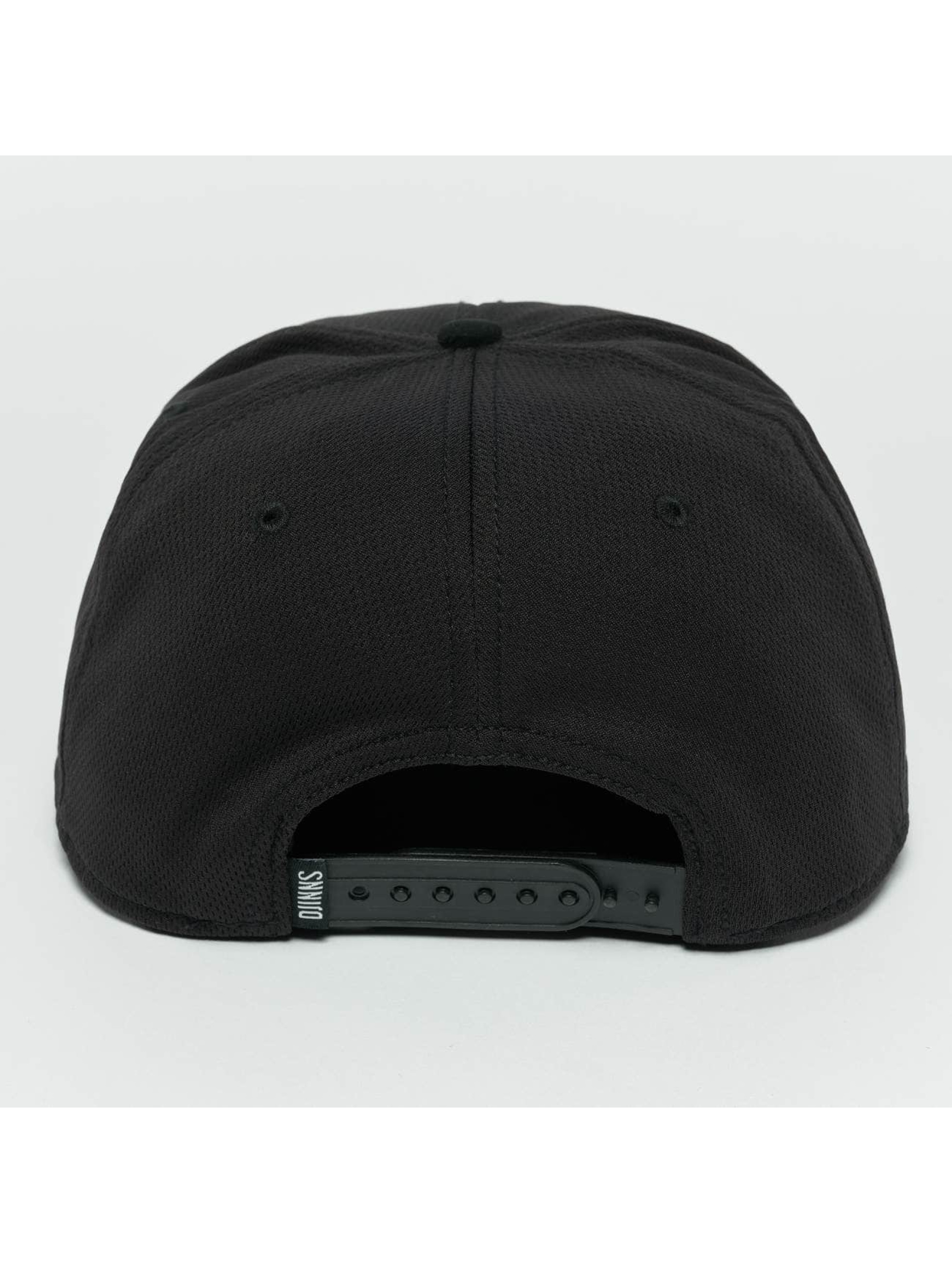 Djinns Snapback Caps Dry Knt svart