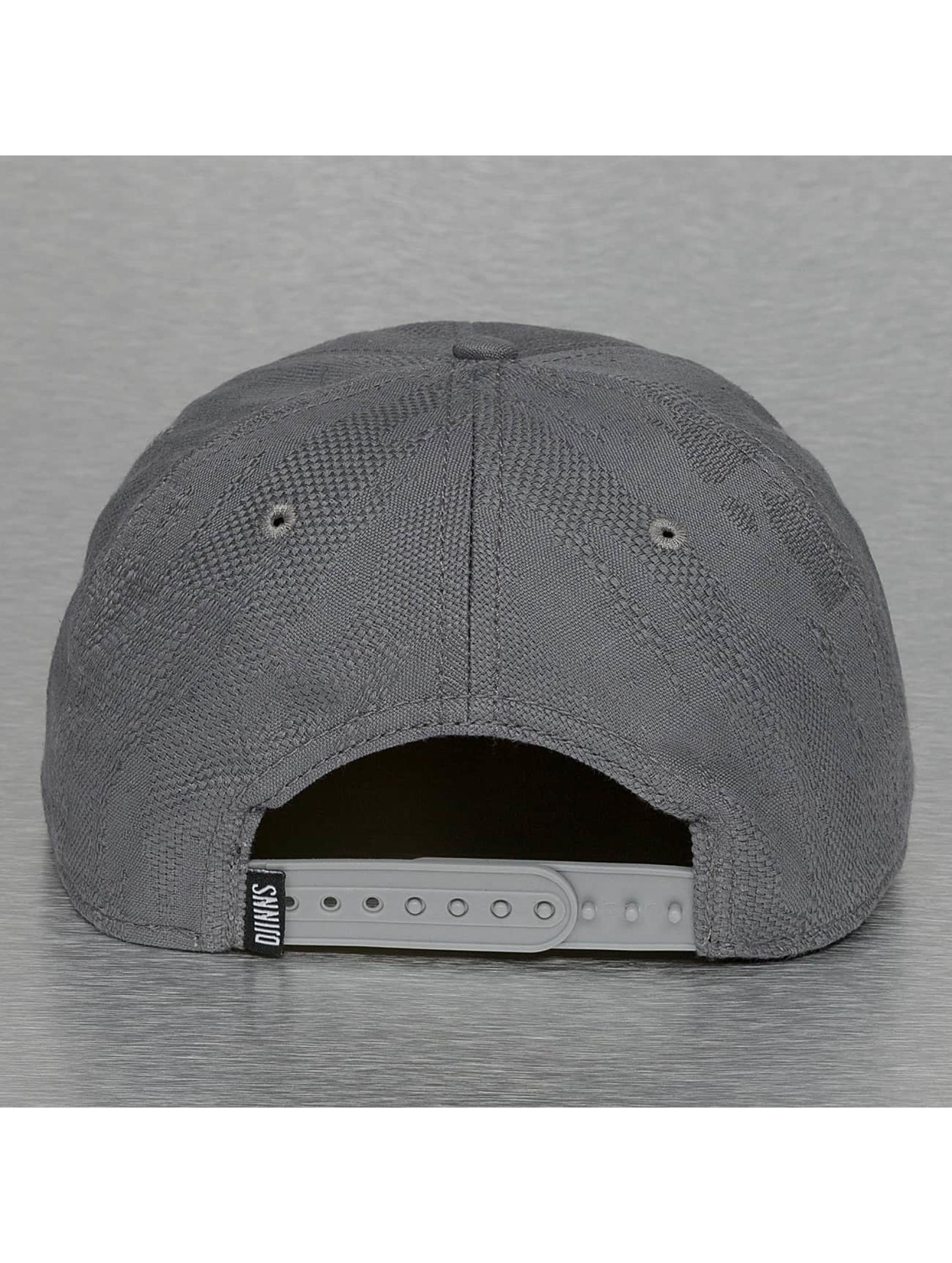 Djinns Snapback Caps Soft Classic szary