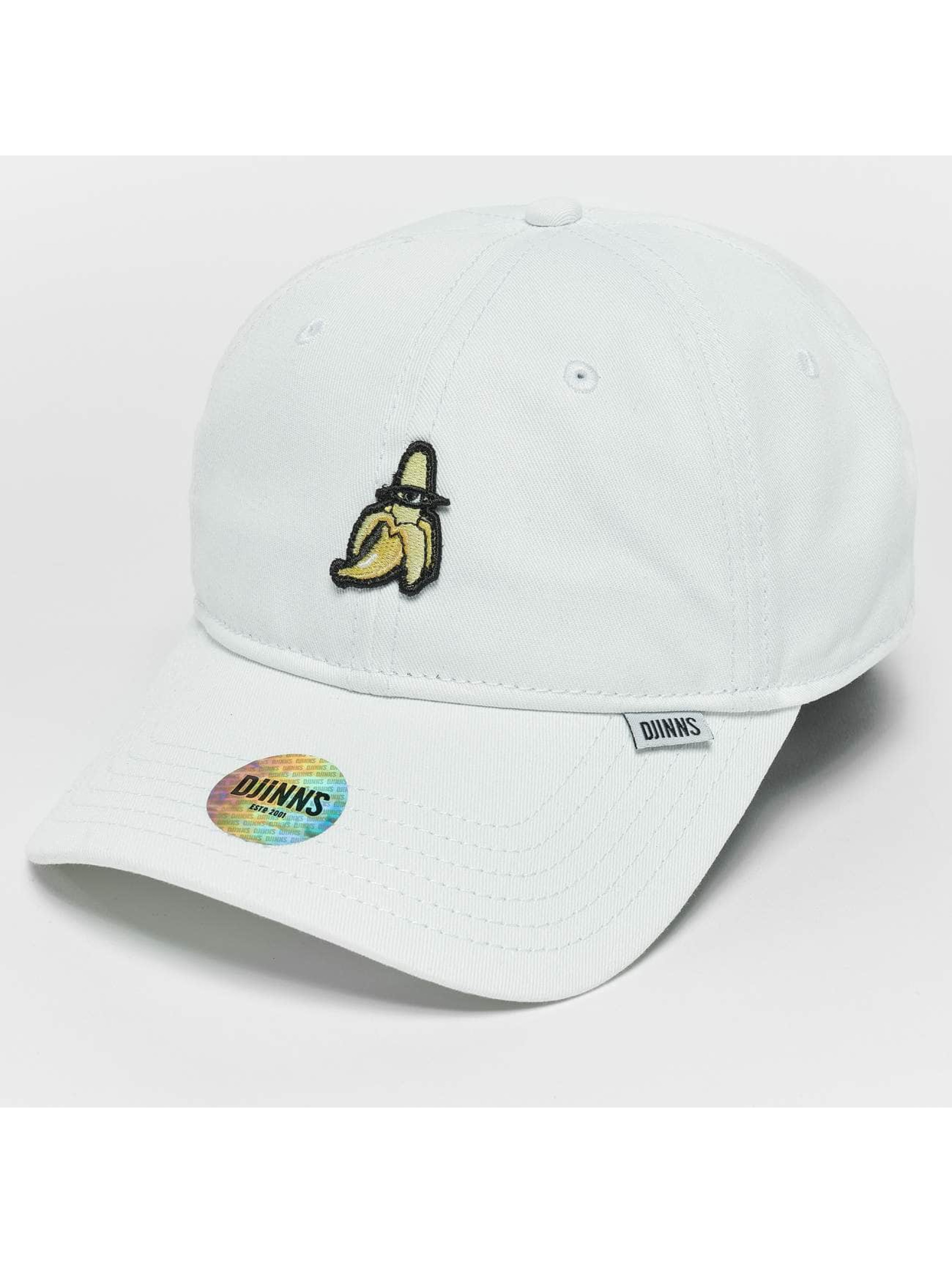 Djinns Snapback Caps Banana Dad valkoinen