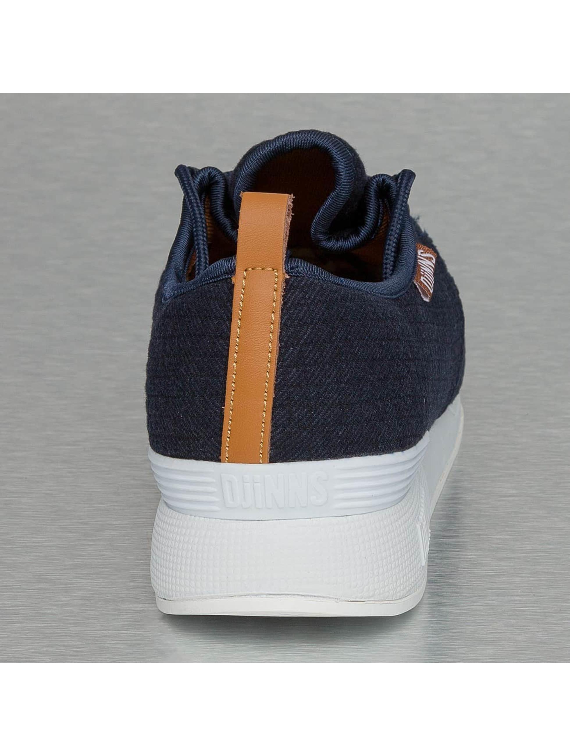 Djinns Sneaker Moc Lau Mini Padded blau