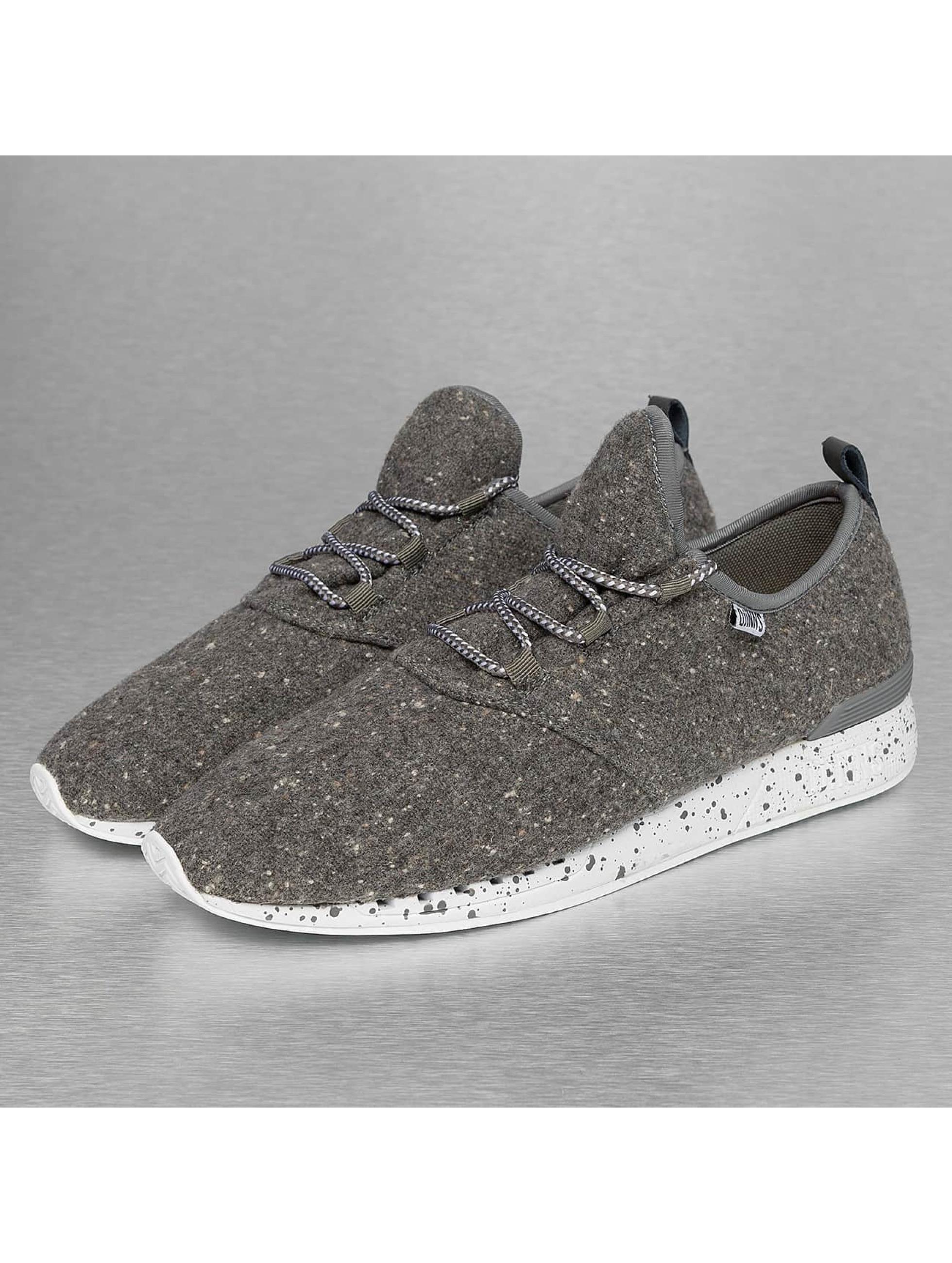 Djinns Sneaker Moc Lau Spots grau