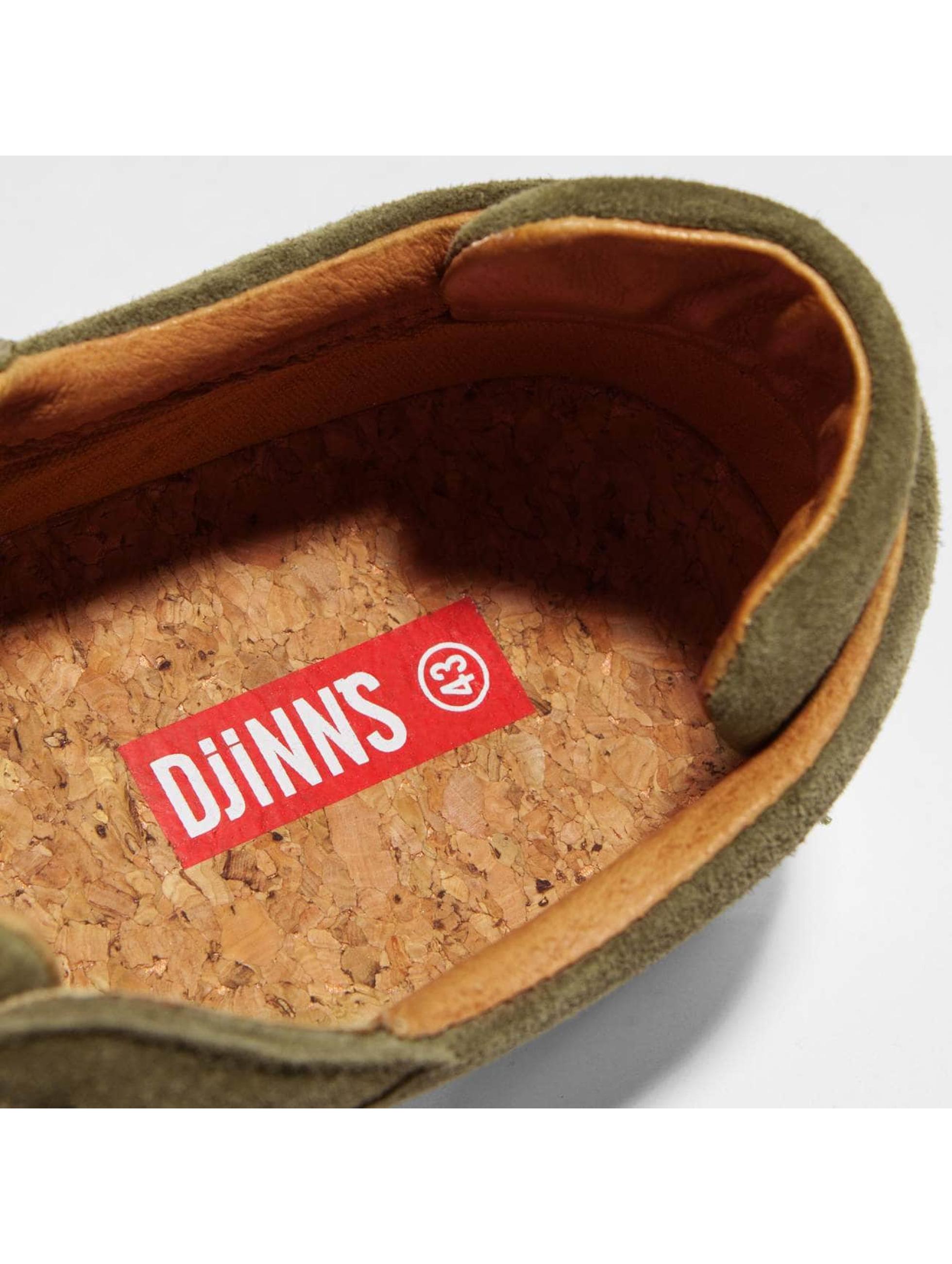 Djinns sneaker Awaike olijfgroen