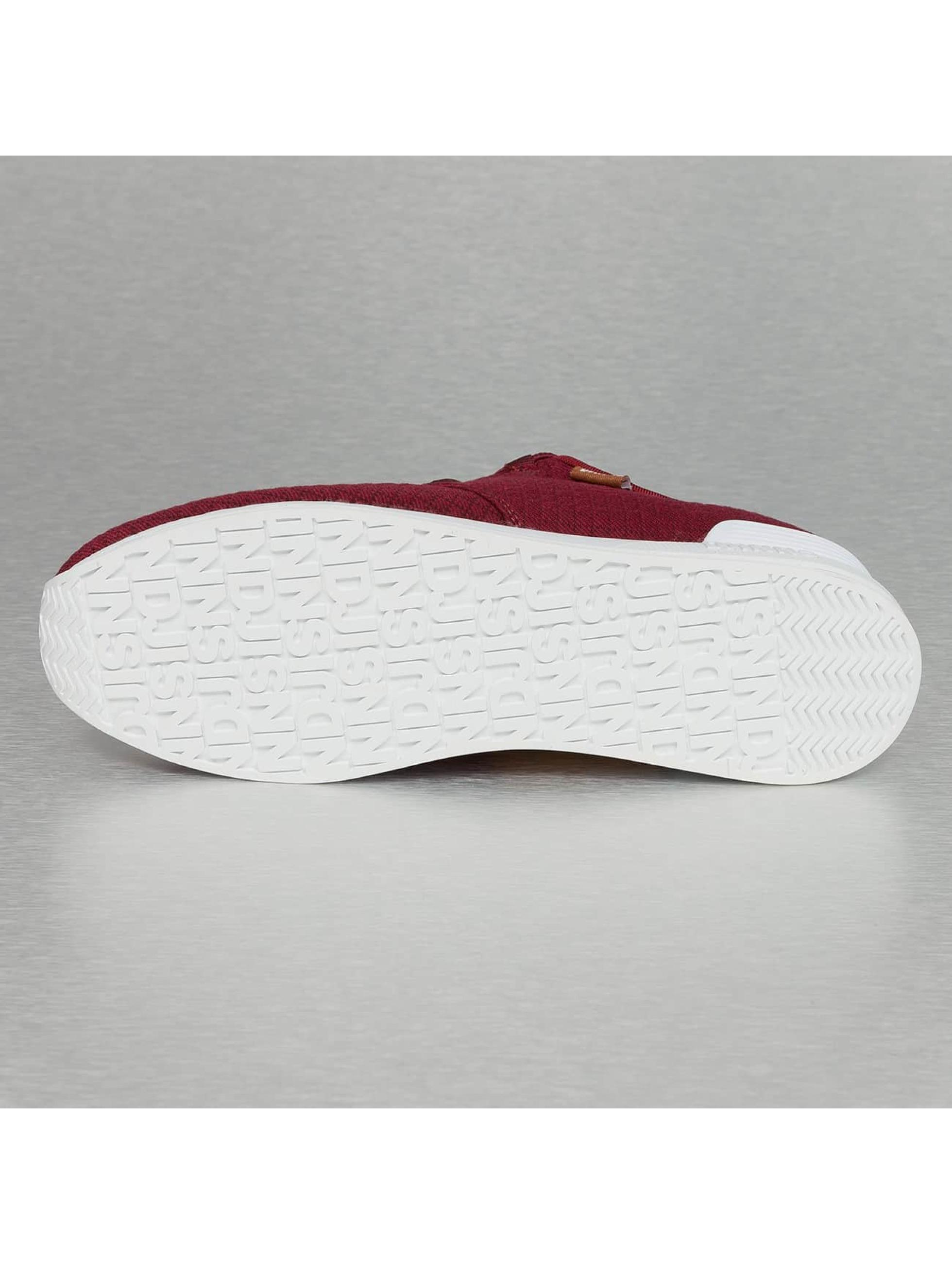 Djinns Sneaker Moc Lau Mini Padded rot