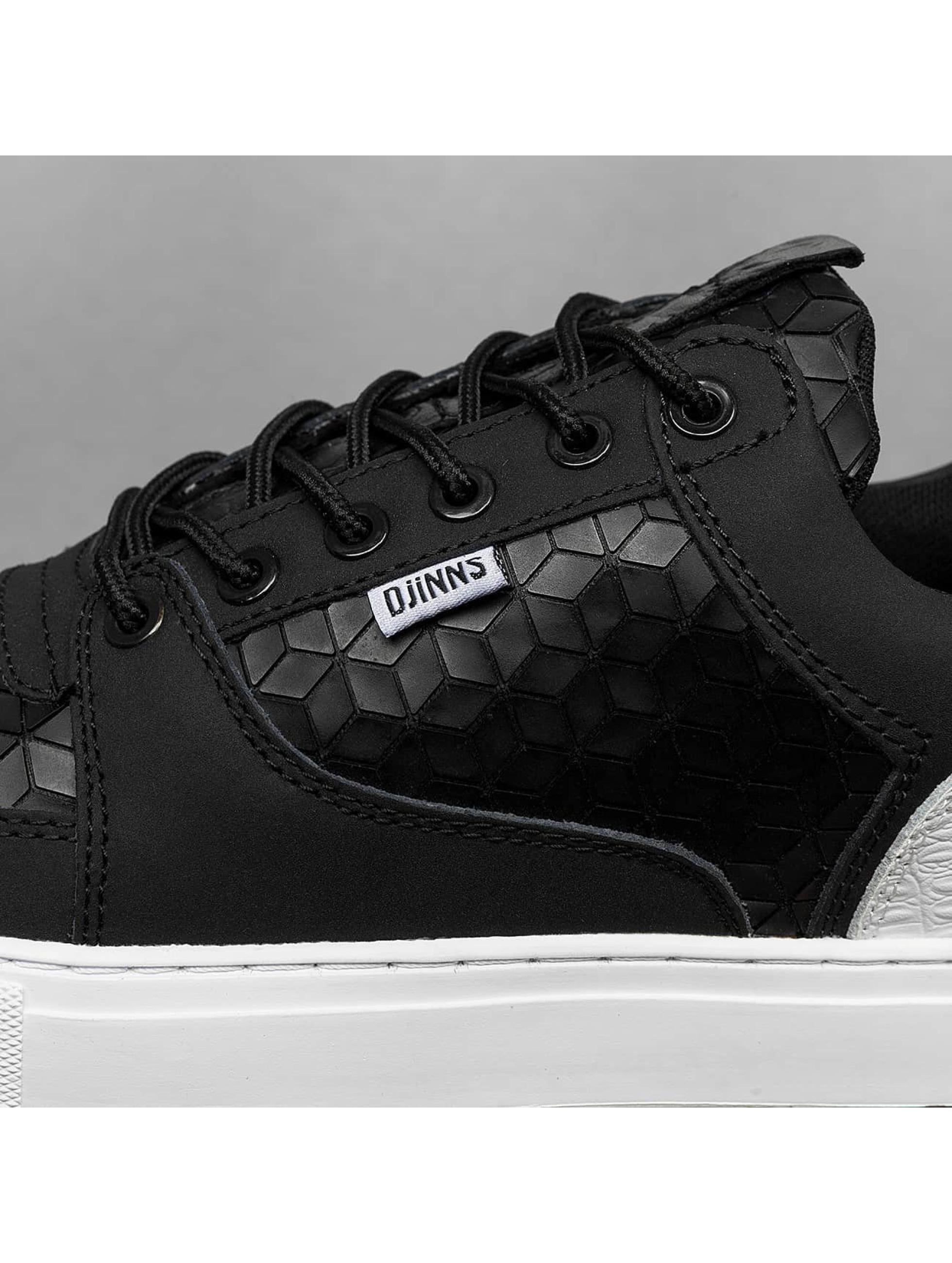 Djinns Sneaker Forlow Rubber Croc schwarz