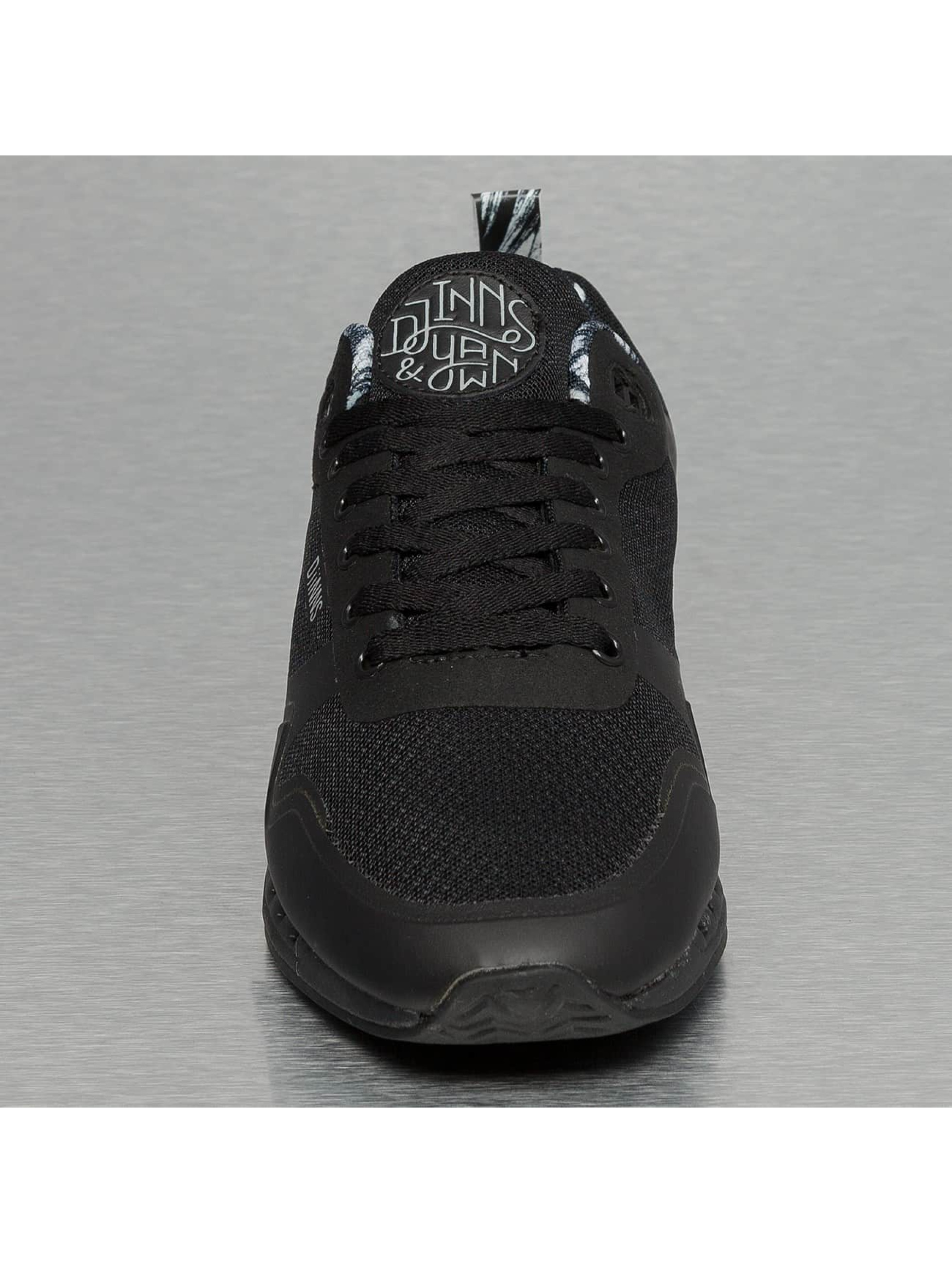 Djinns Sneaker Easy Run Yawn schwarz