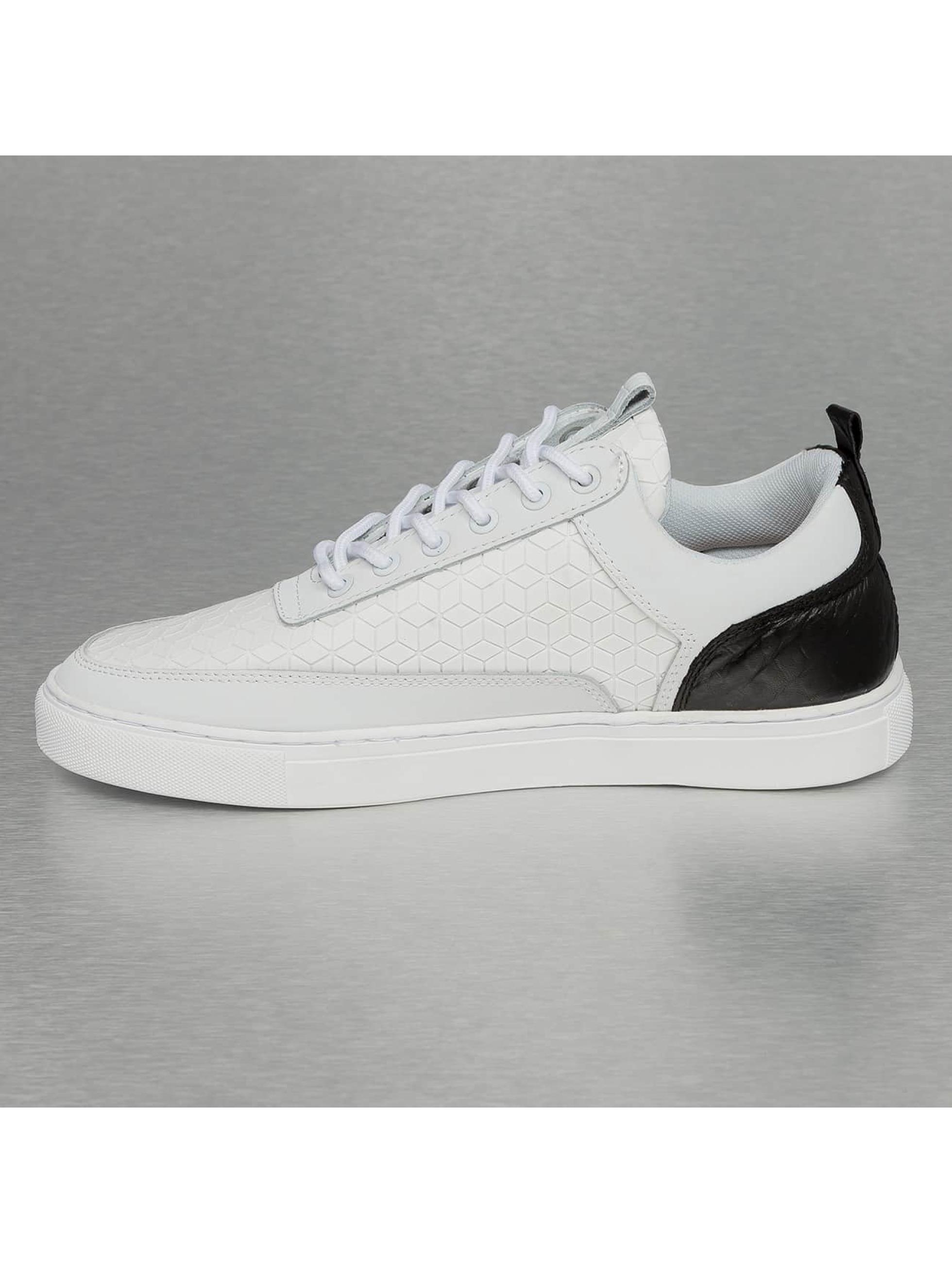 Djinns Sneaker Forlow Rubber Croc weiß