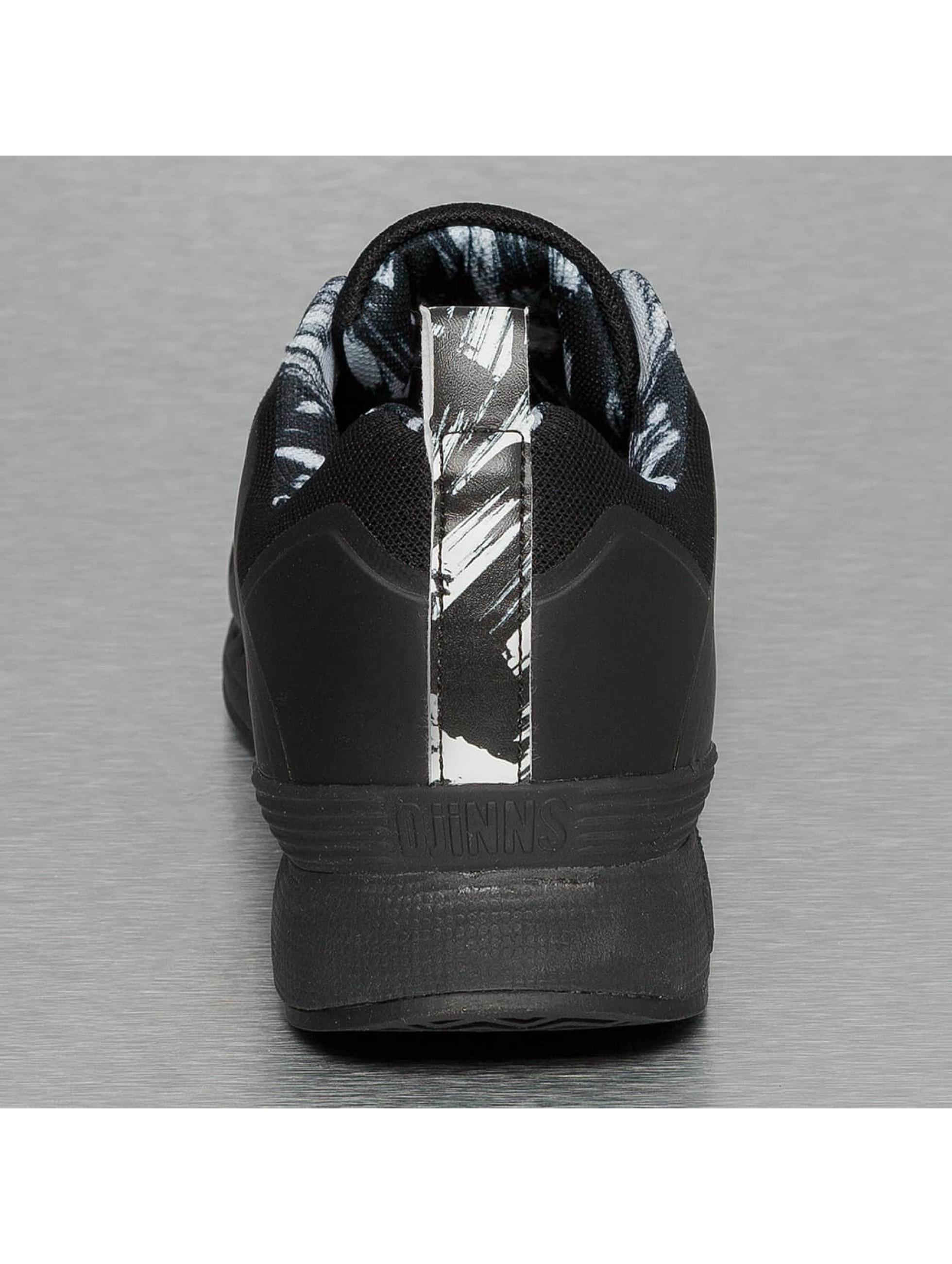 Djinns sneaker Easy Run Yawn zwart