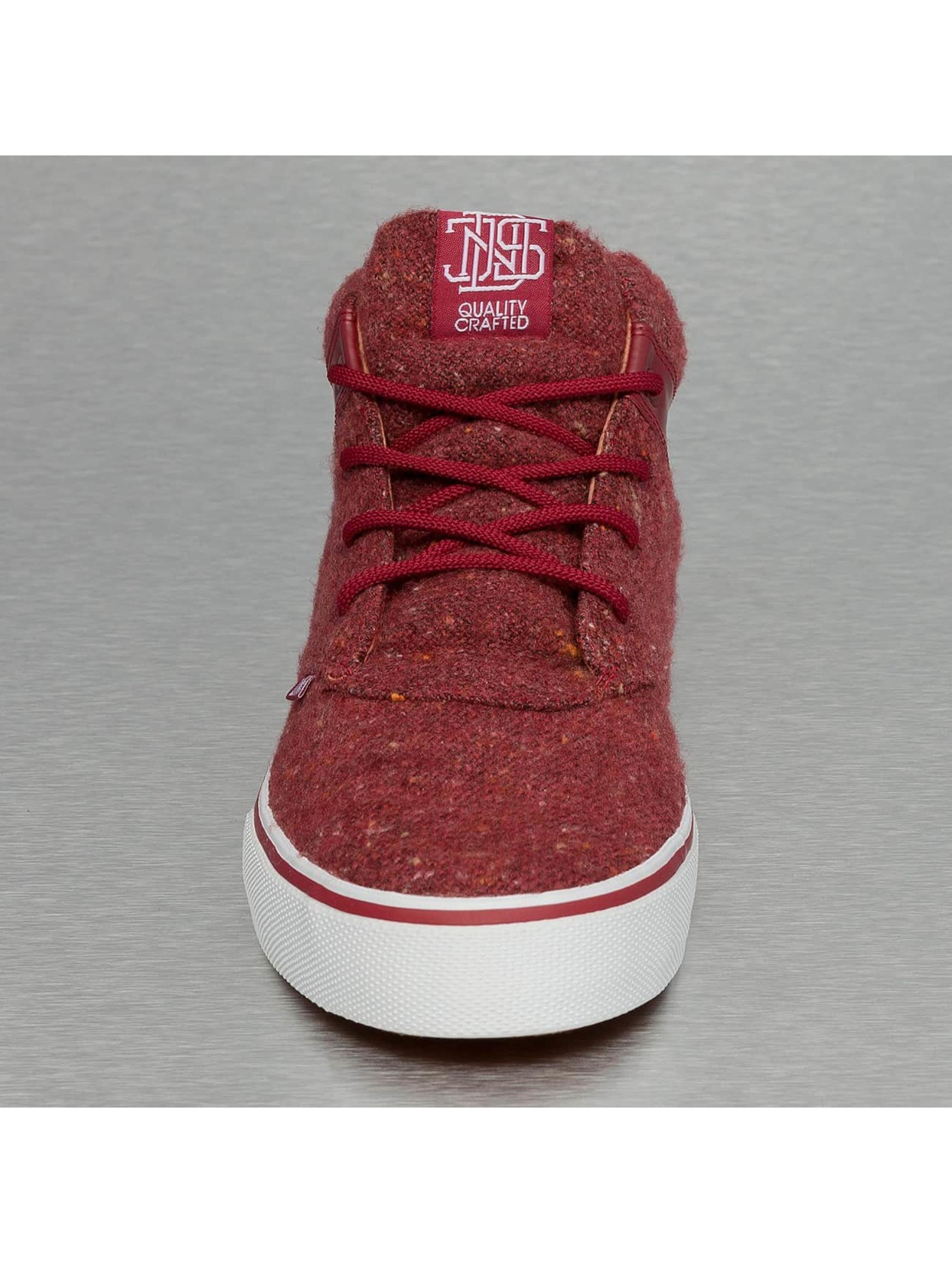 Djinns Sneakers Chunk Spotted Felt èervená
