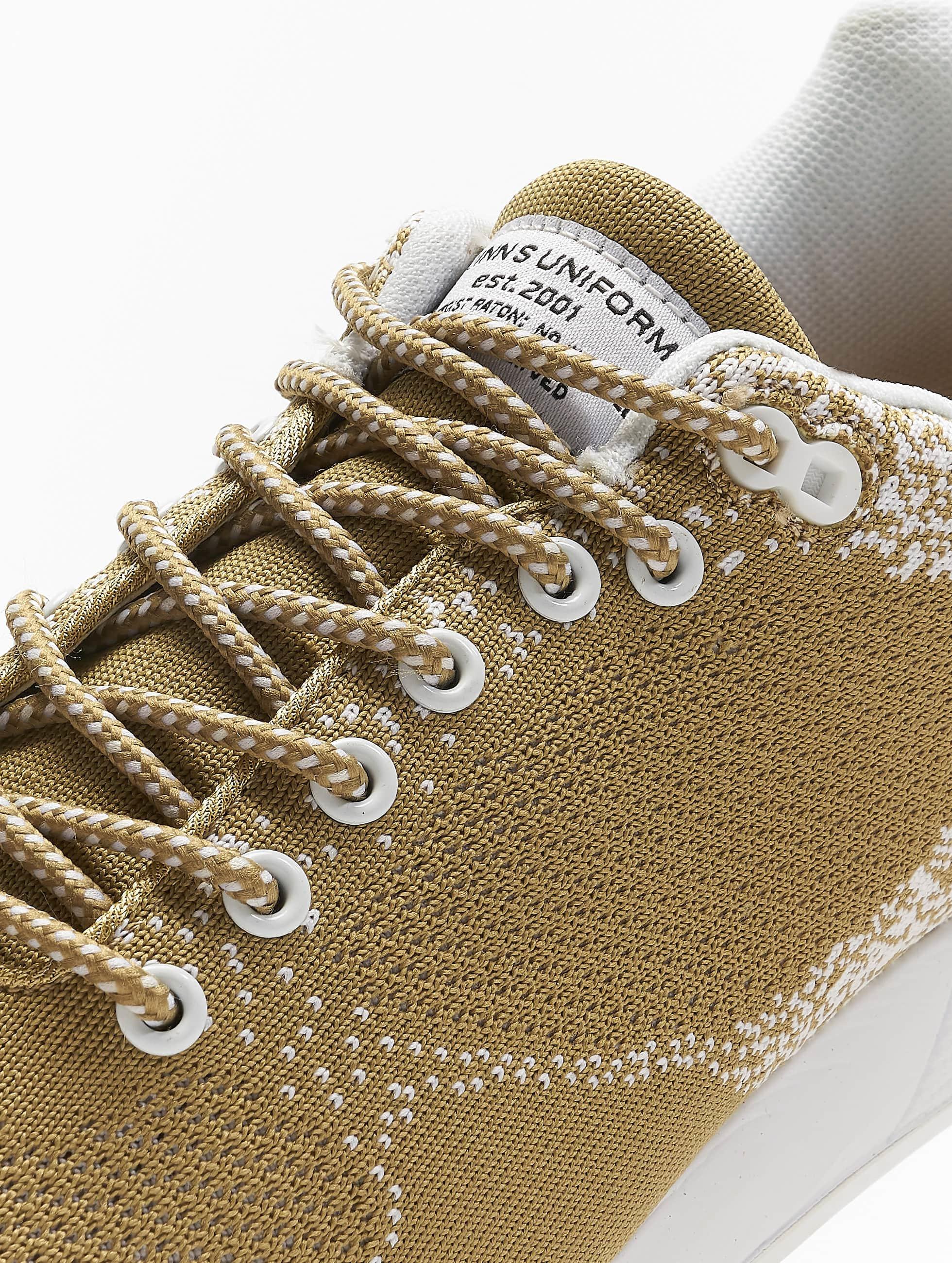 Djinns Sneakers Easy Run Gator Knit béžová