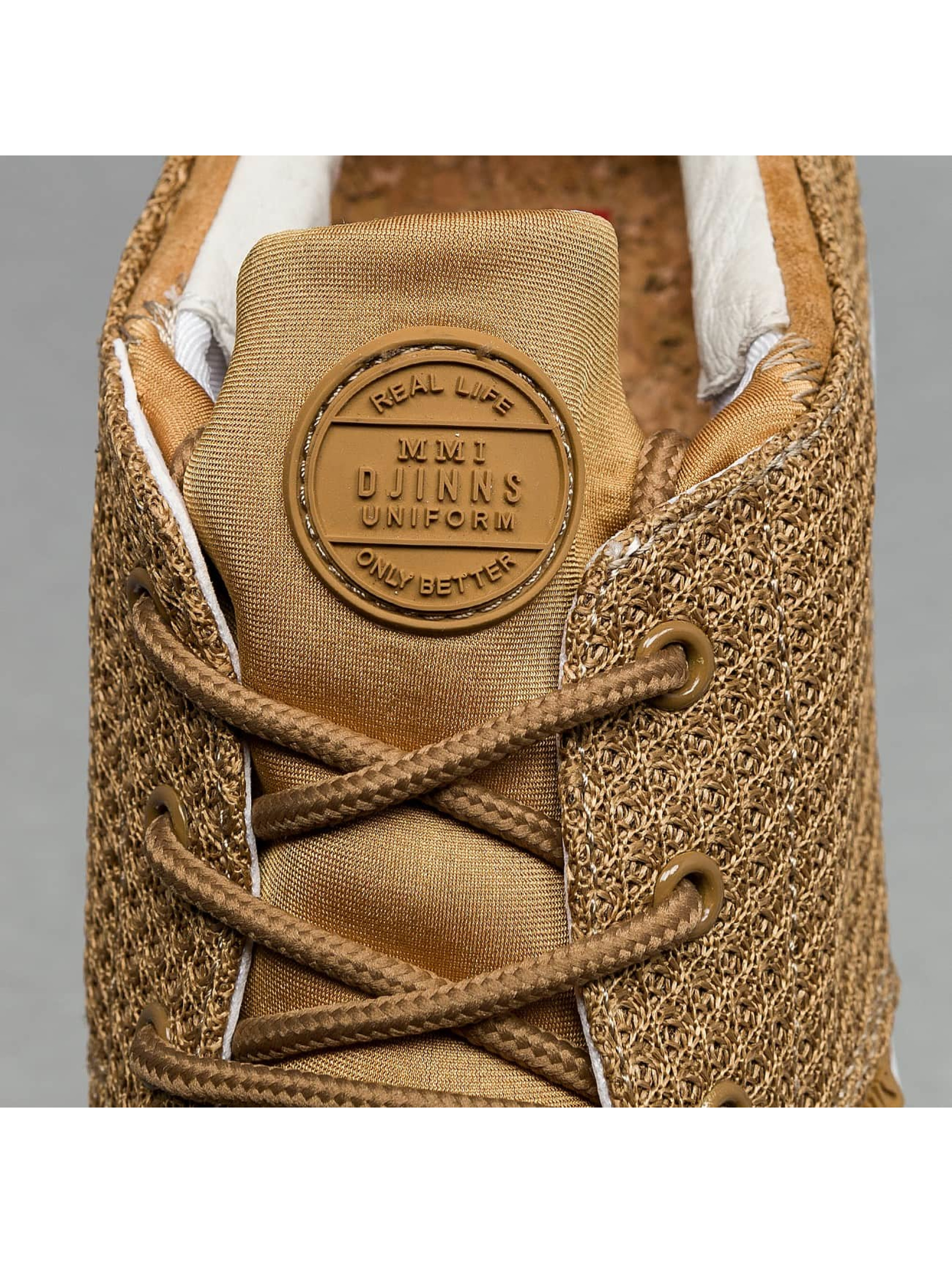 Djinns Sneakers Lau Run Mesh & Skin béžová