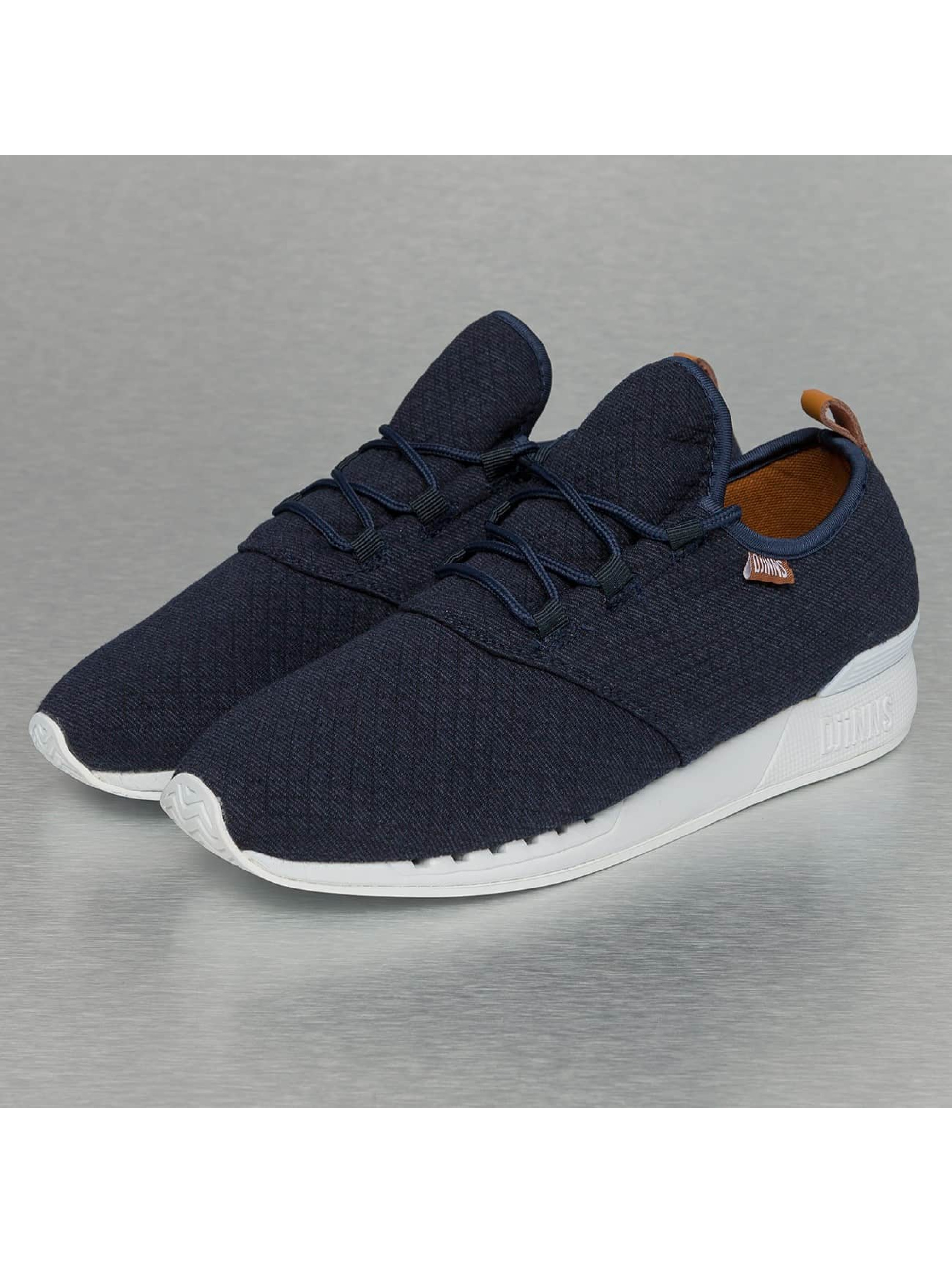 Djinns Sneakers Moc Lau Mini Padded blå