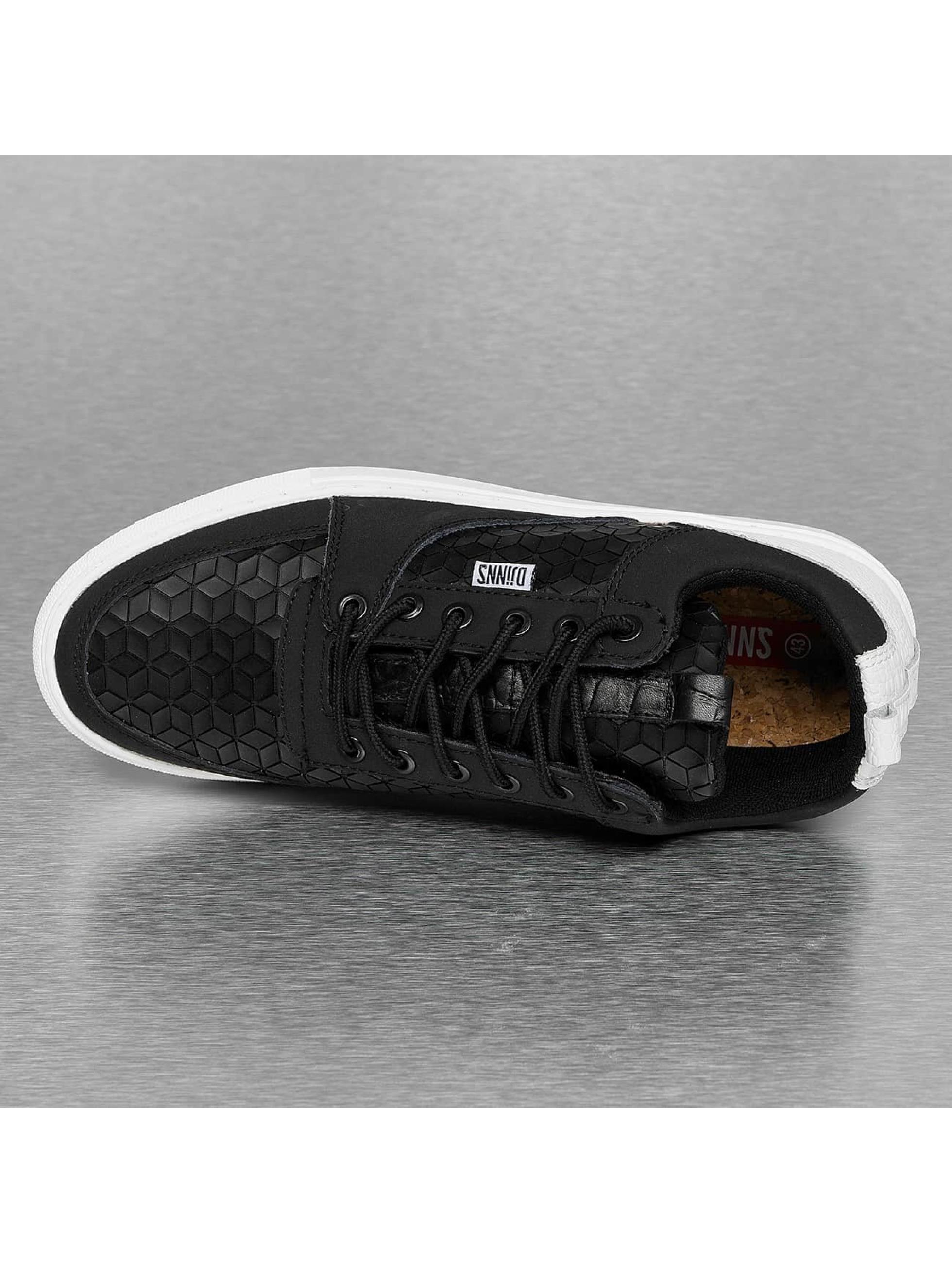 Djinns Sneakers Forlow Rubber Croc black