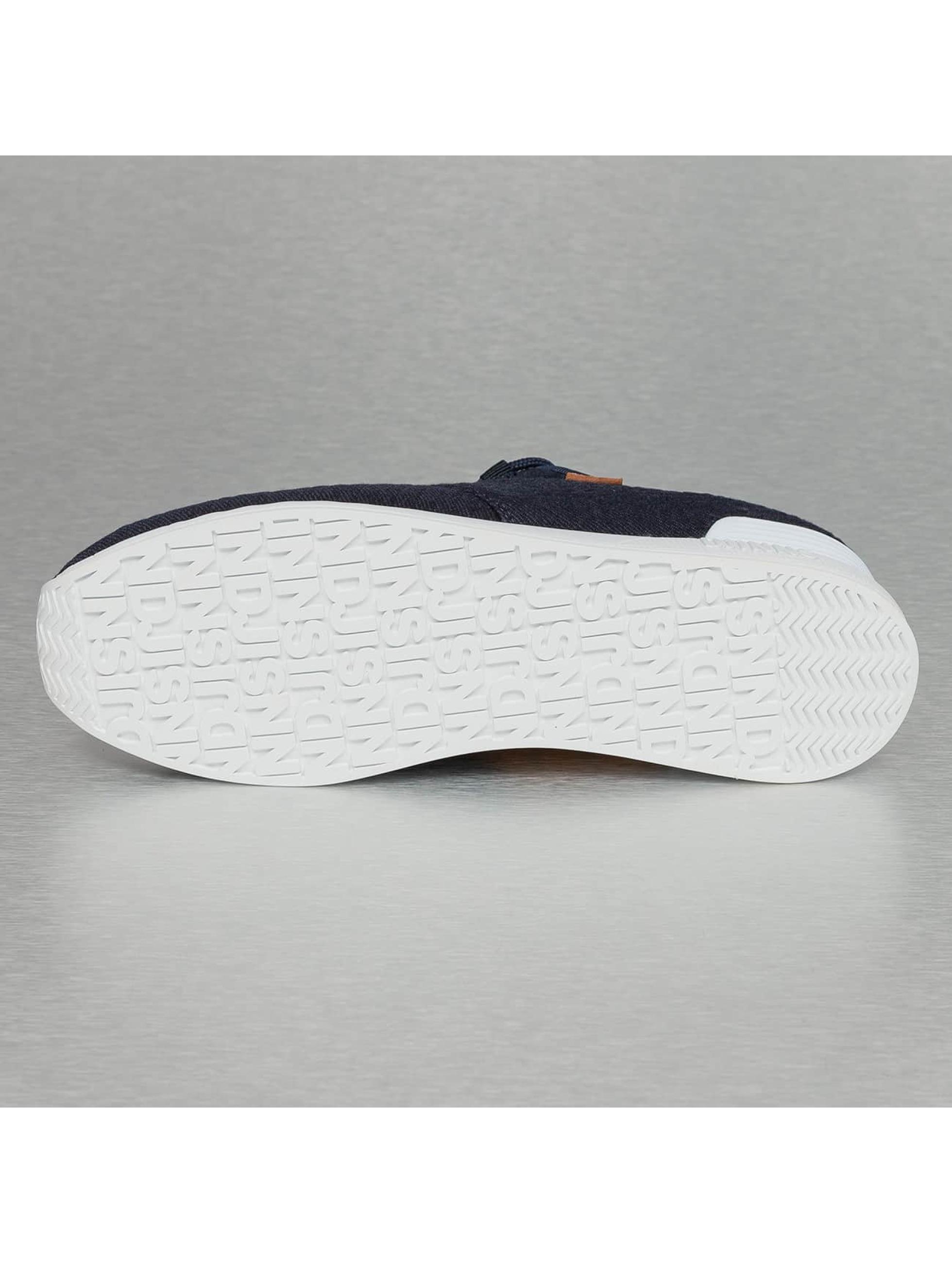 Djinns Sneakers Moc Lau Mini Padded blue