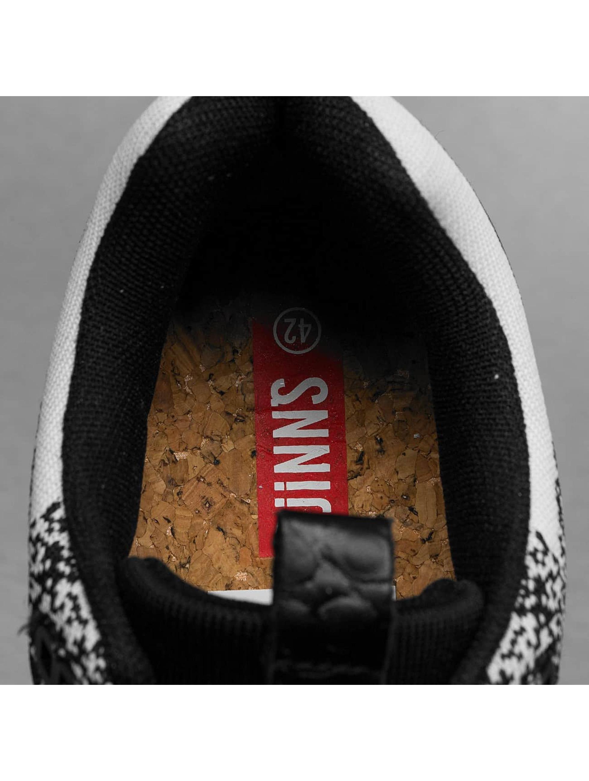 Djinns Sneakers Easy Run Gator Knit czarny