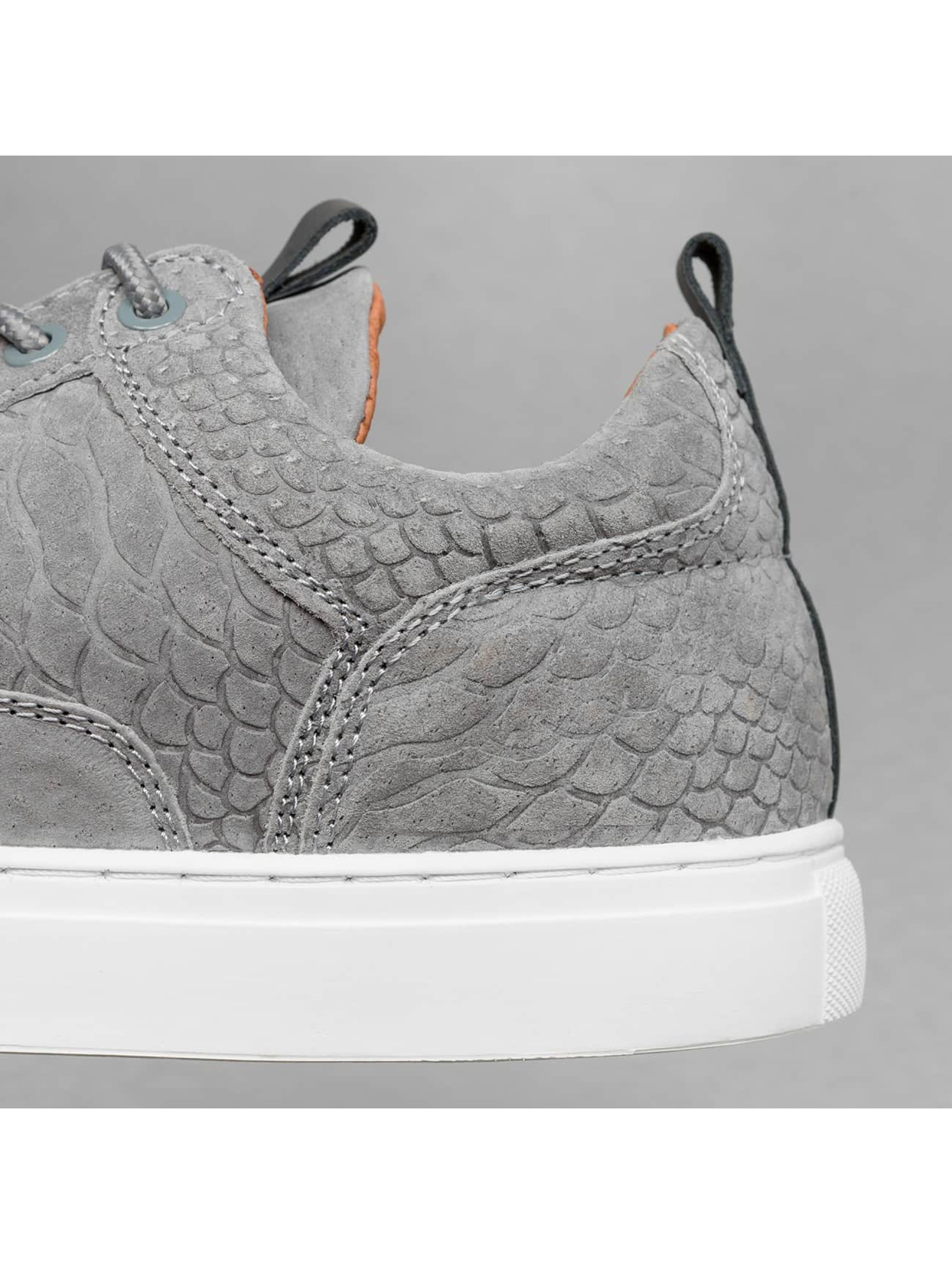 Djinns Sneakers Forlow Snake Run grey