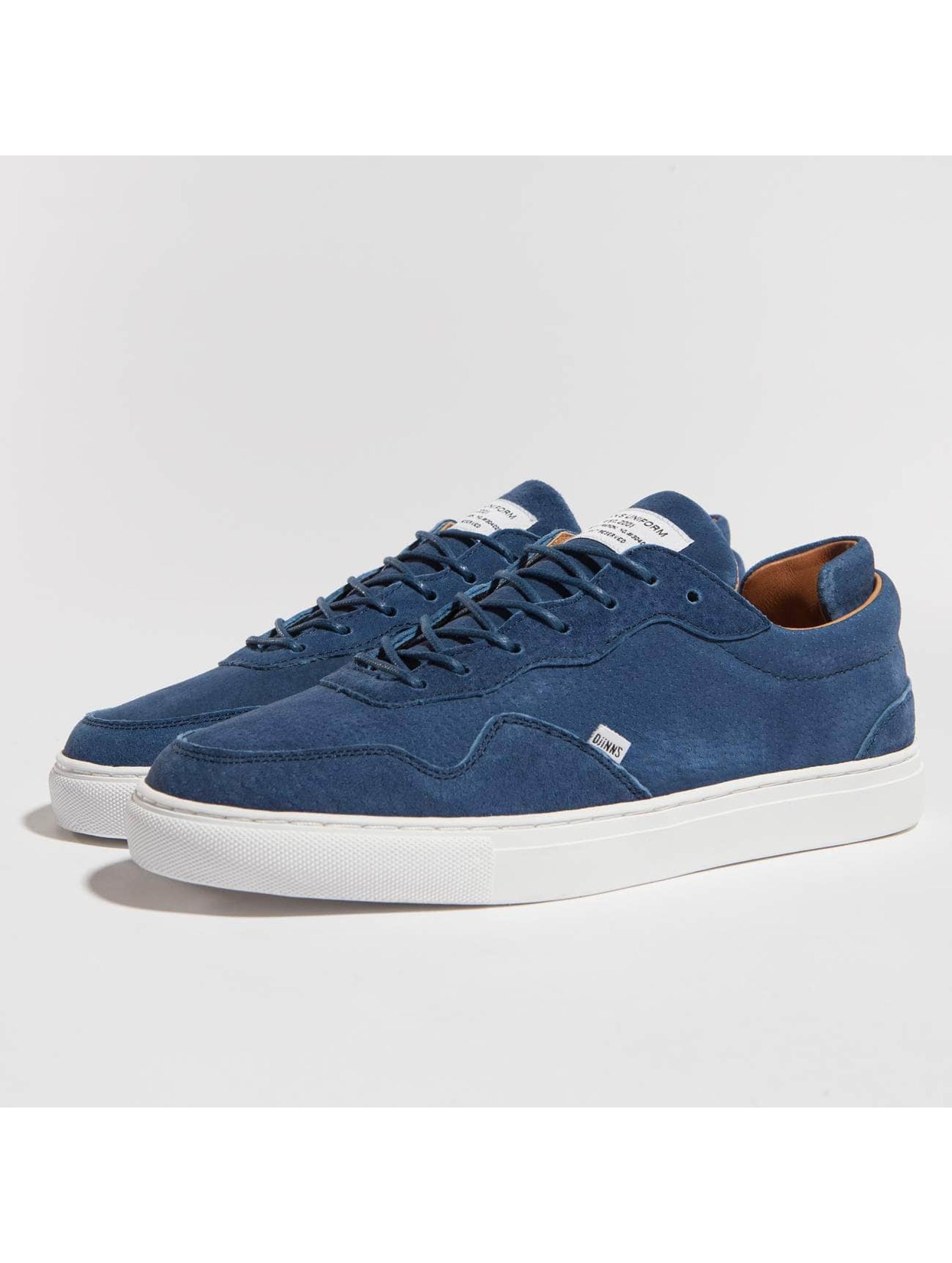 Djinns Sneakers Awaike Suede modrá