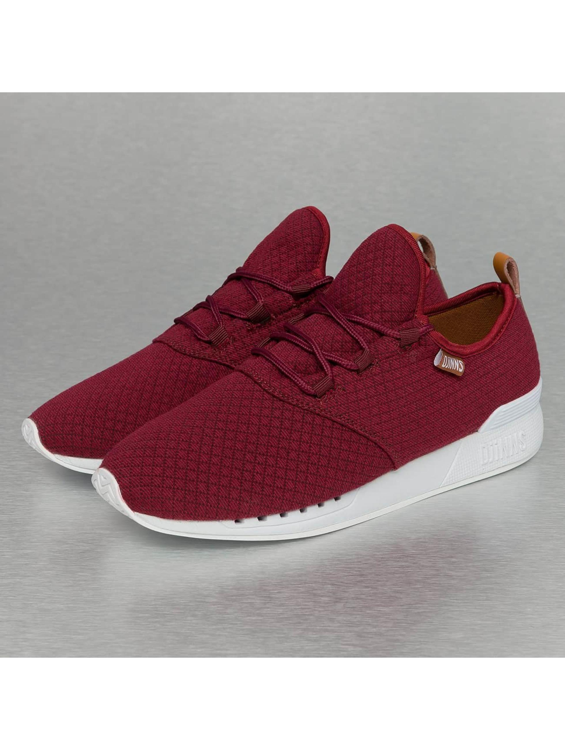 Djinns Sneakers Moc Lau Mini Padded red