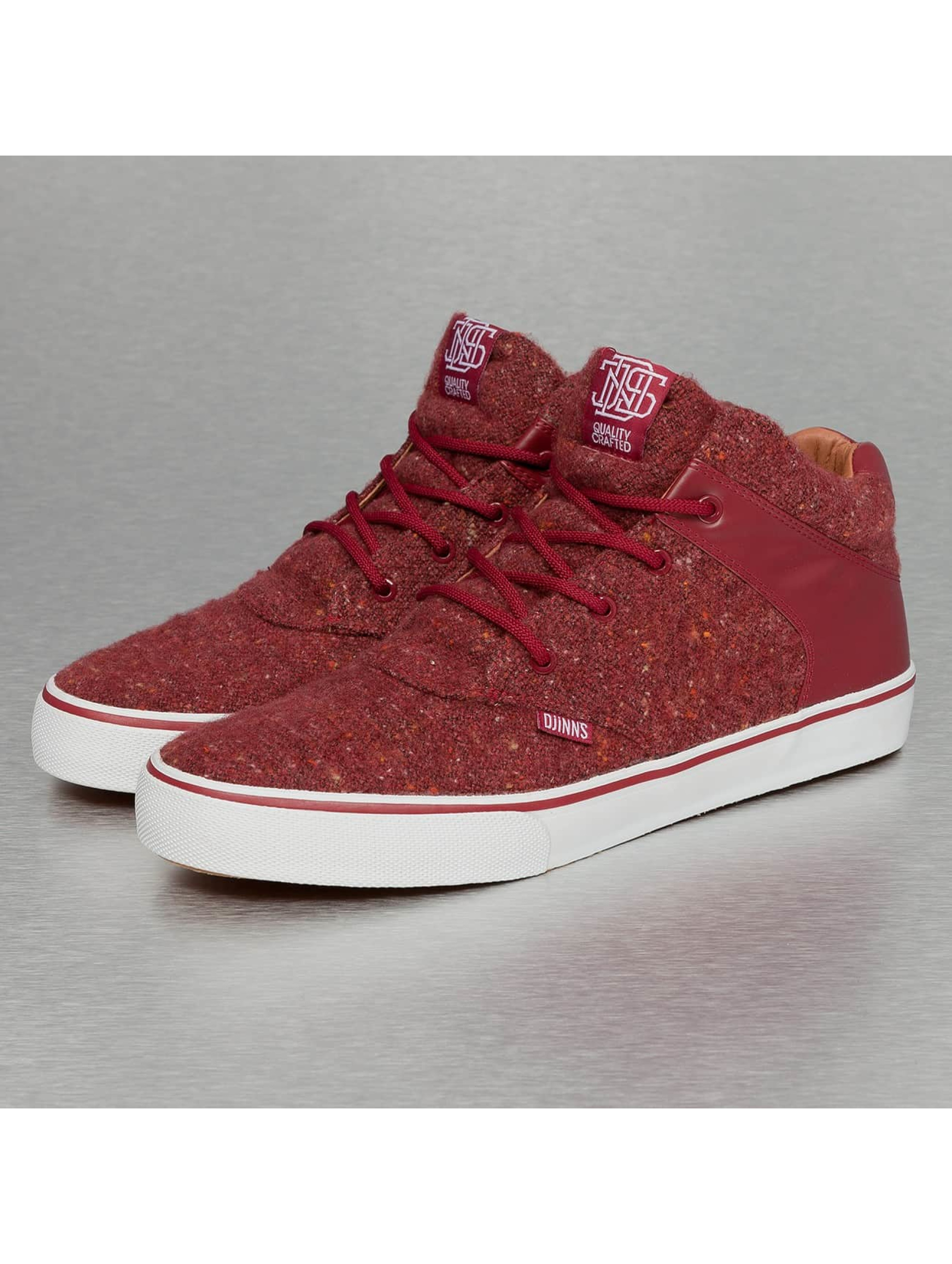 Djinns Sneakers Chunk Spotted Felt red