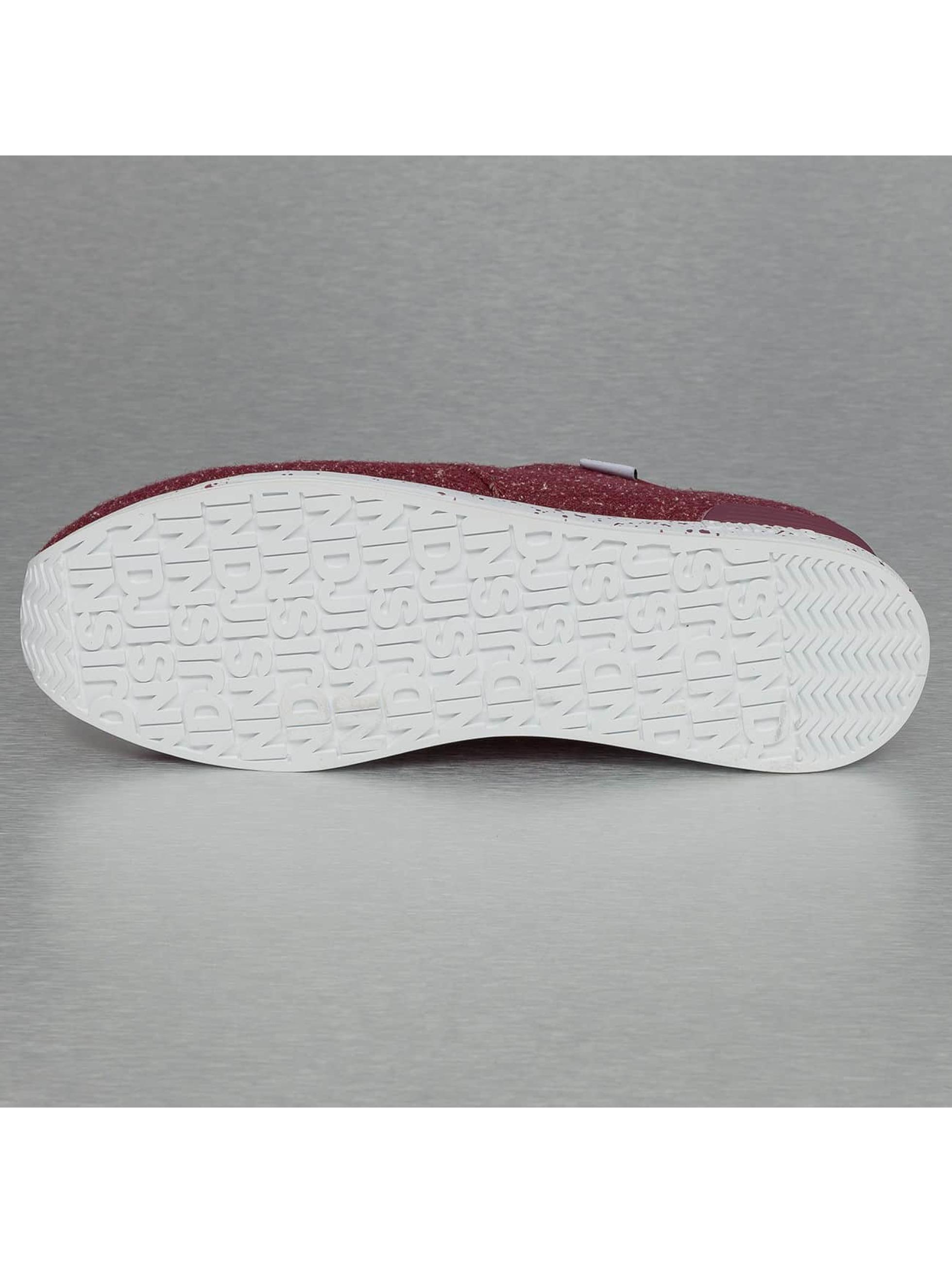Djinns Sneakers Moc Lau Spots röd