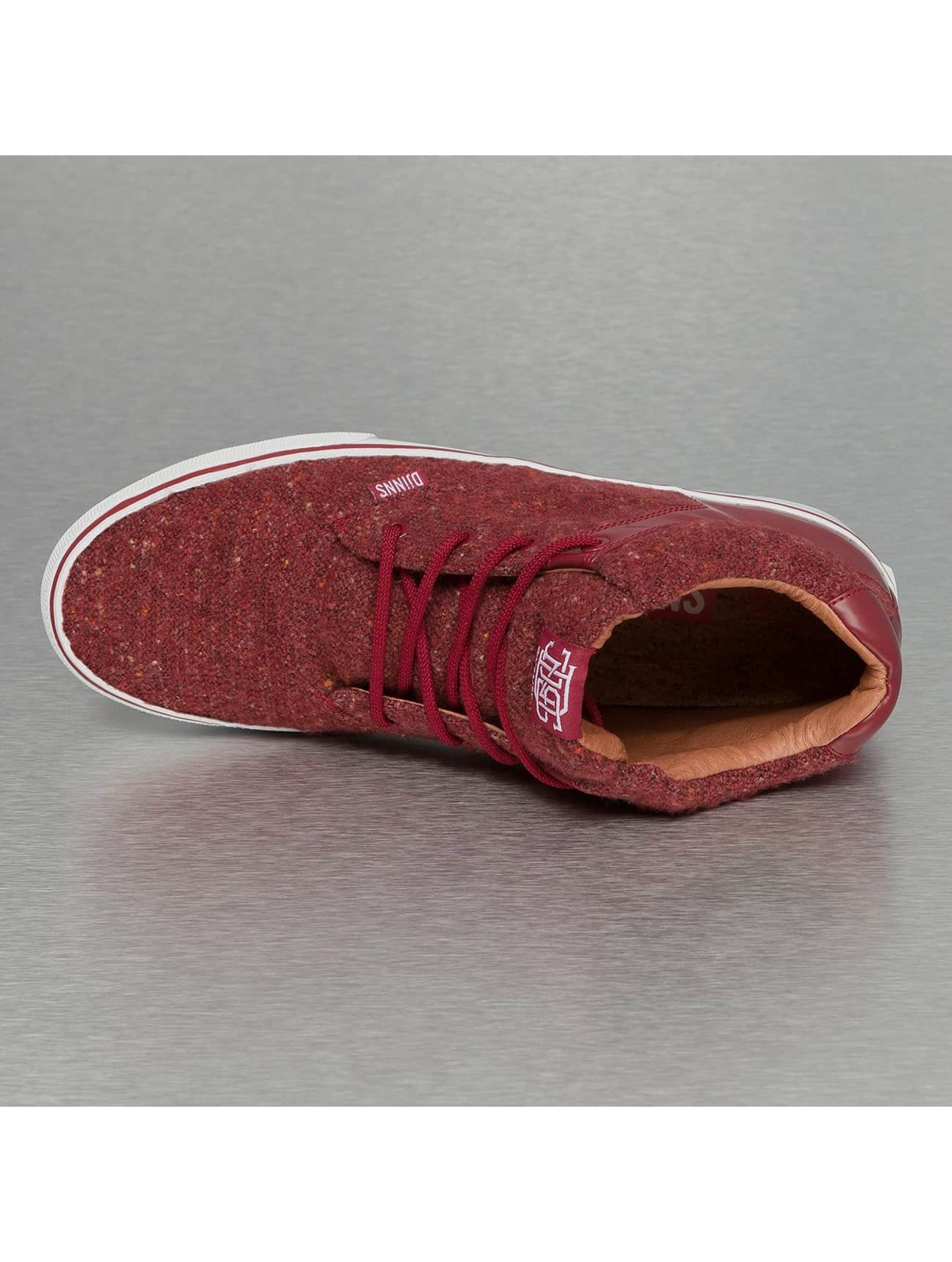 Djinns Tennarit Chunk Spotted Felt punainen