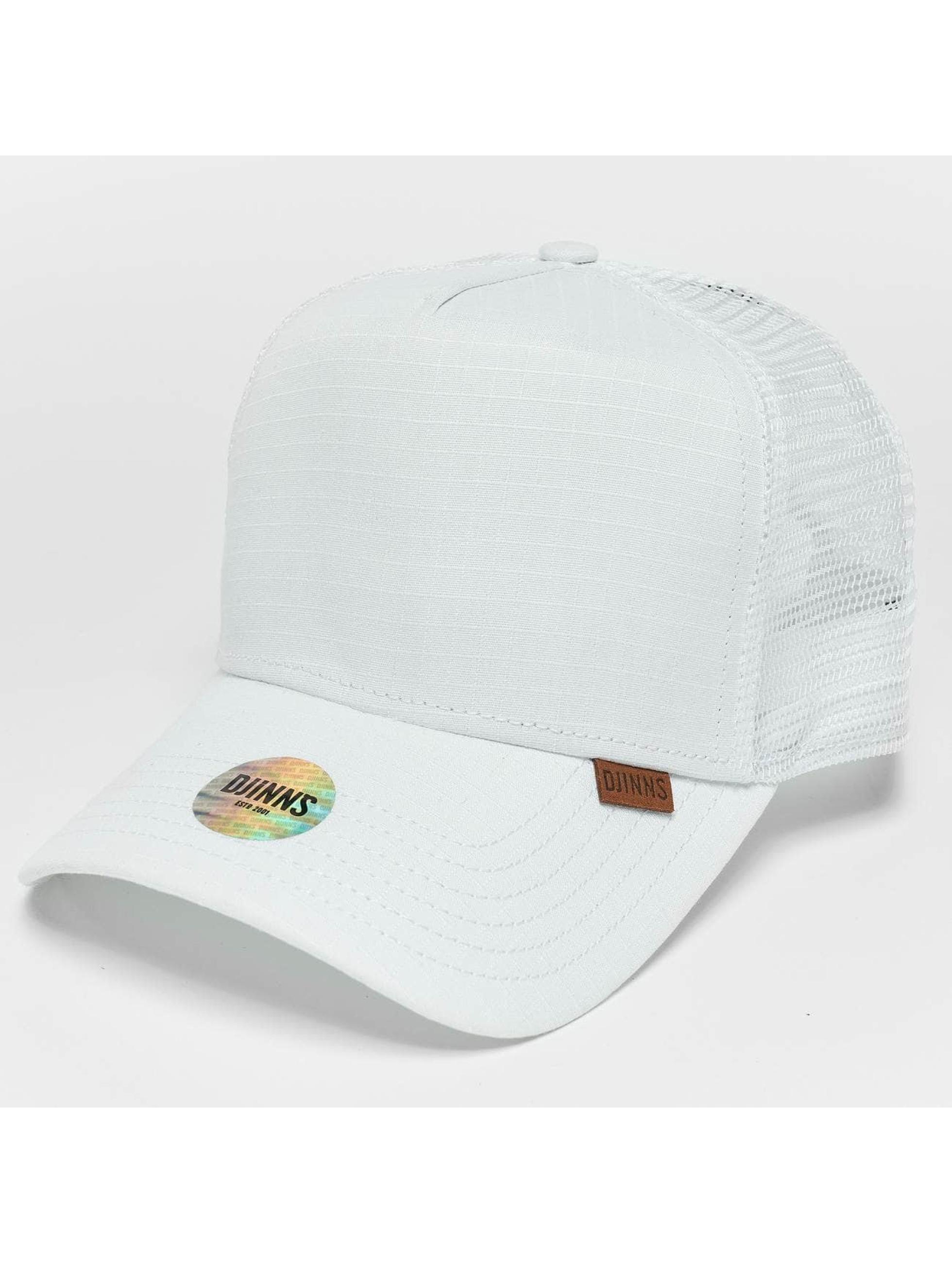 Djinns Trucker Caps M-Rib Stop High hvit