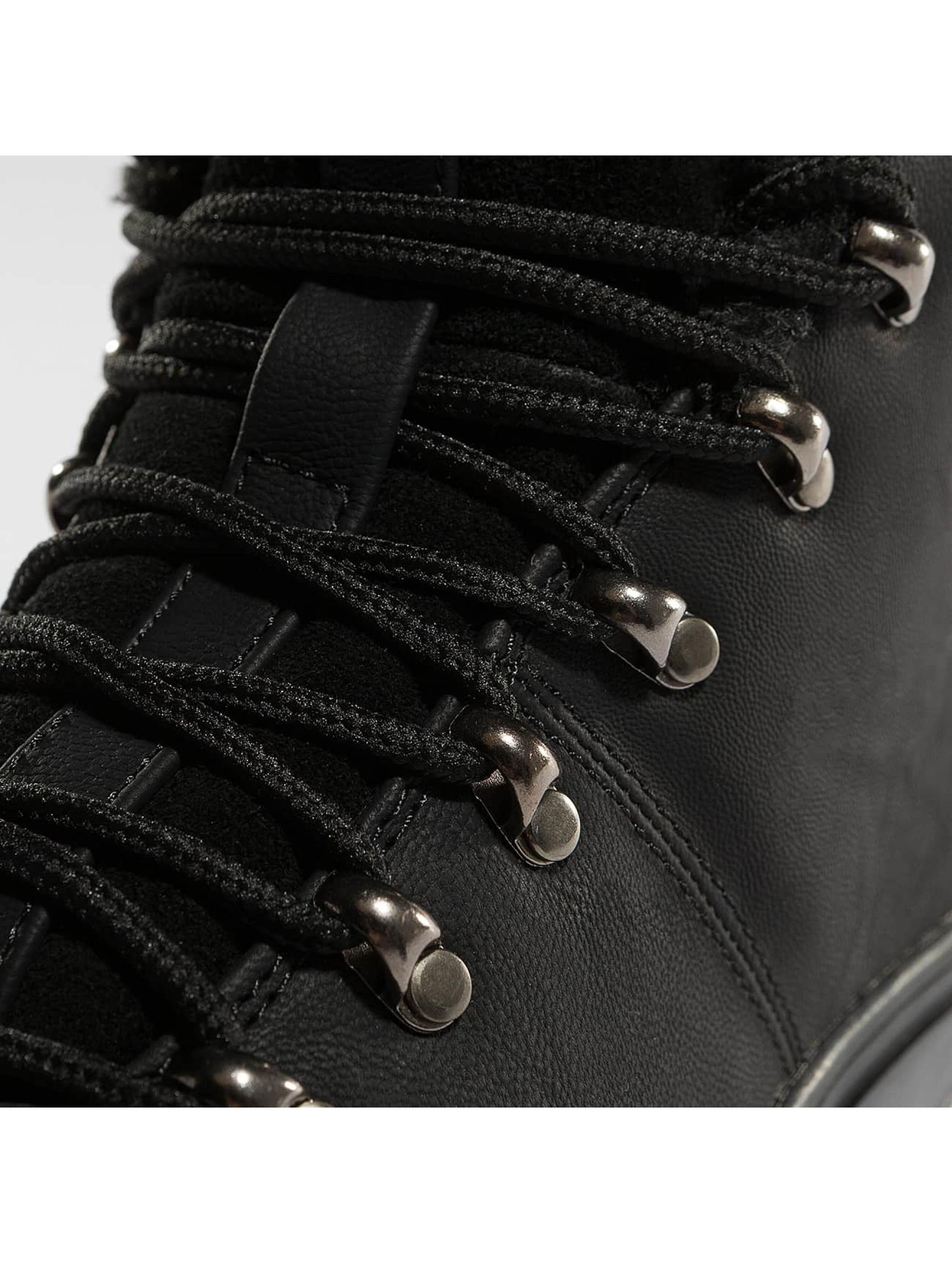 Djinns Vapaa-ajan kengät Fur musta