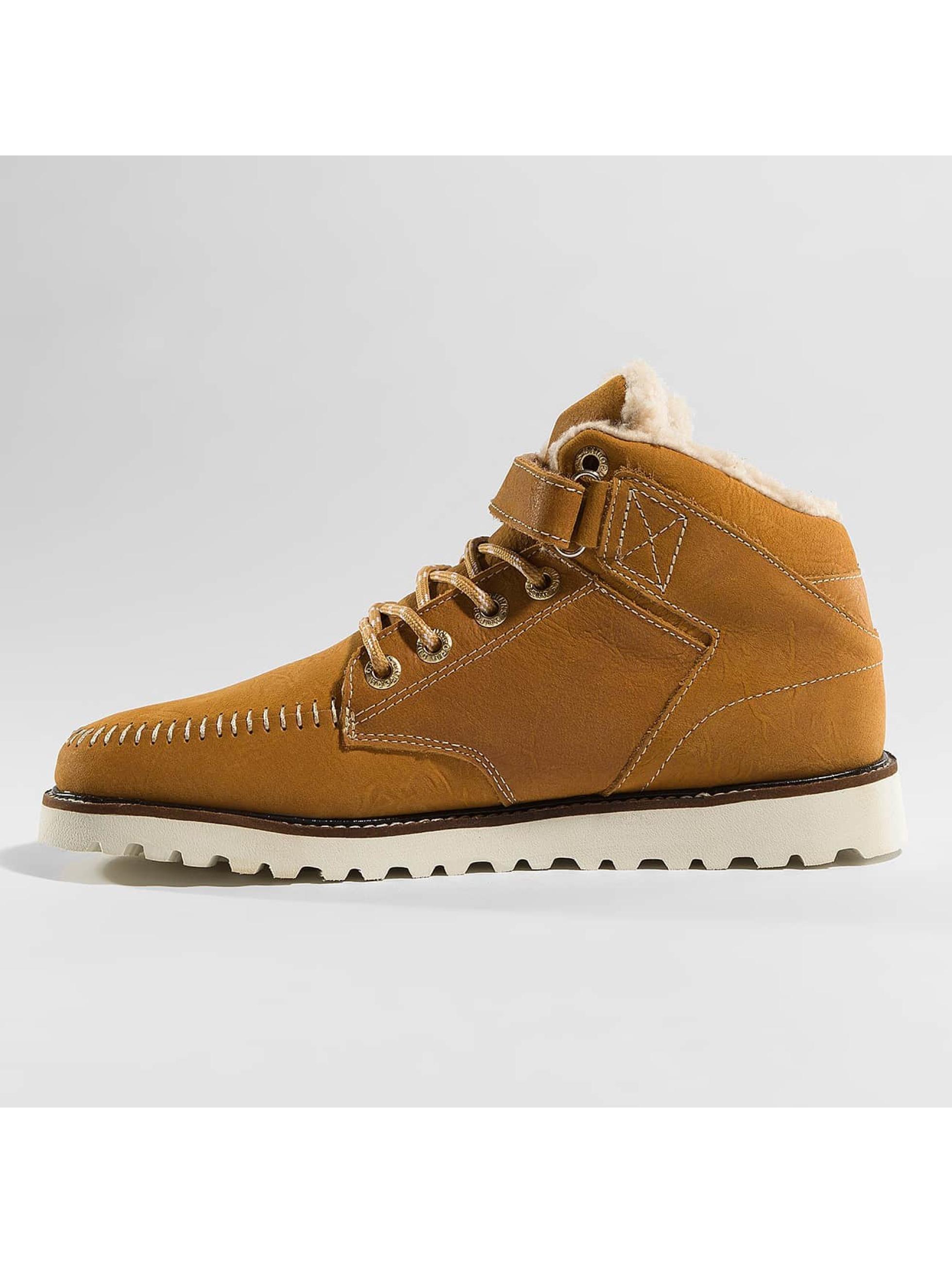 Djinns Vapaa-ajan kengät Wunk Fur Deff ruskea