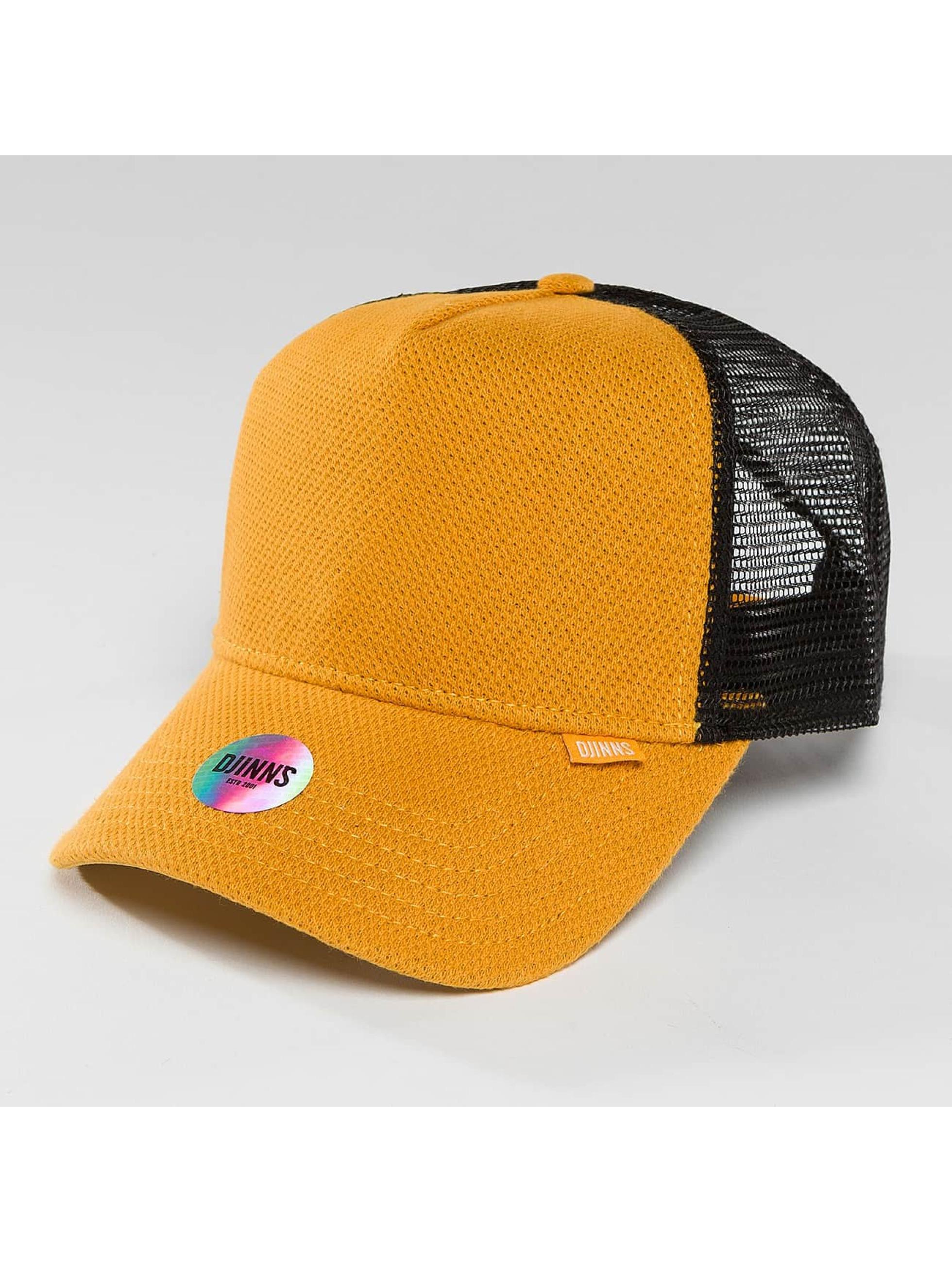 Djinns Verkkolippikset HFT Piki Leather keltainen