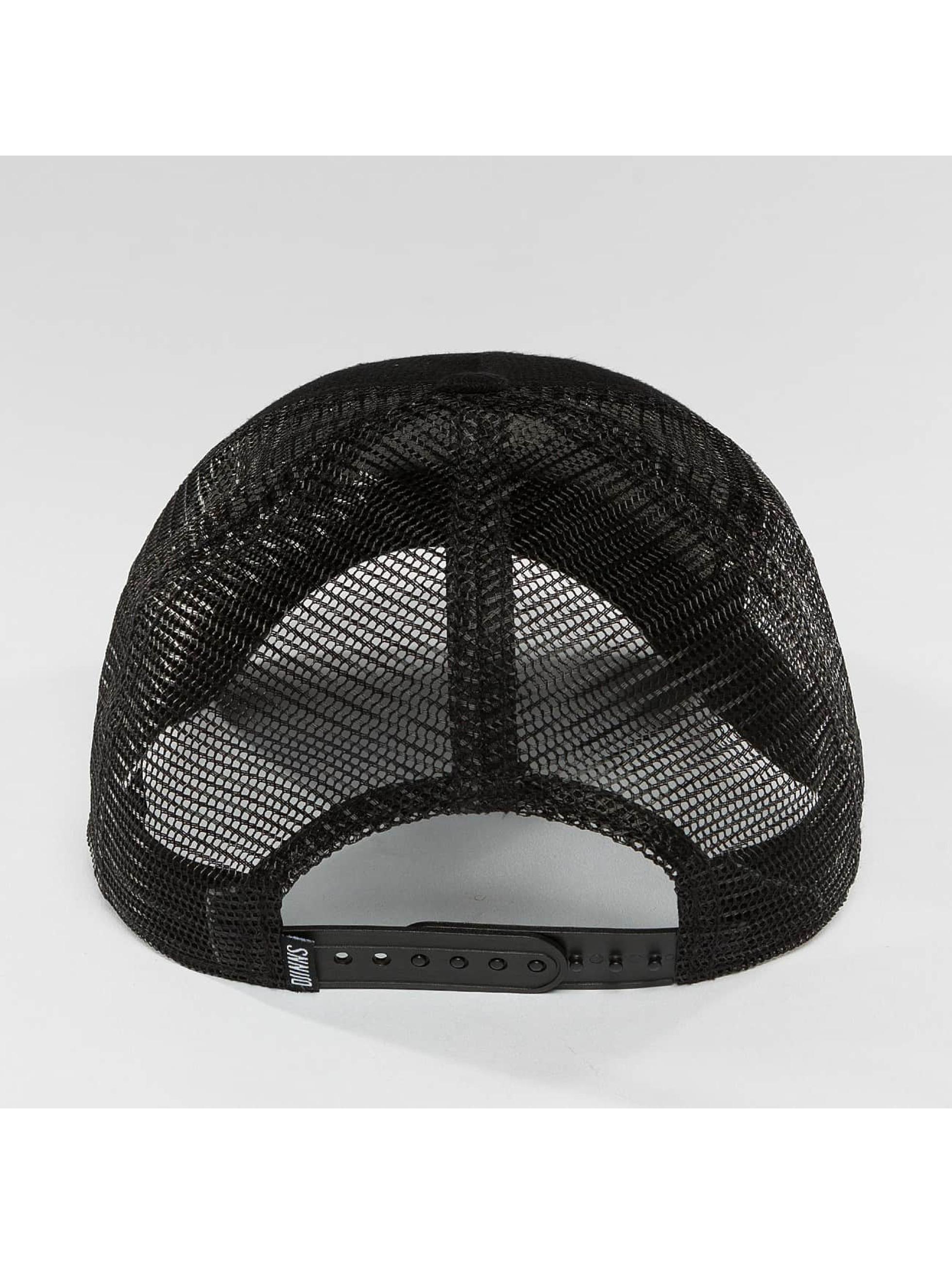 Djinns Verkkolippikset HFT Piki Leather musta