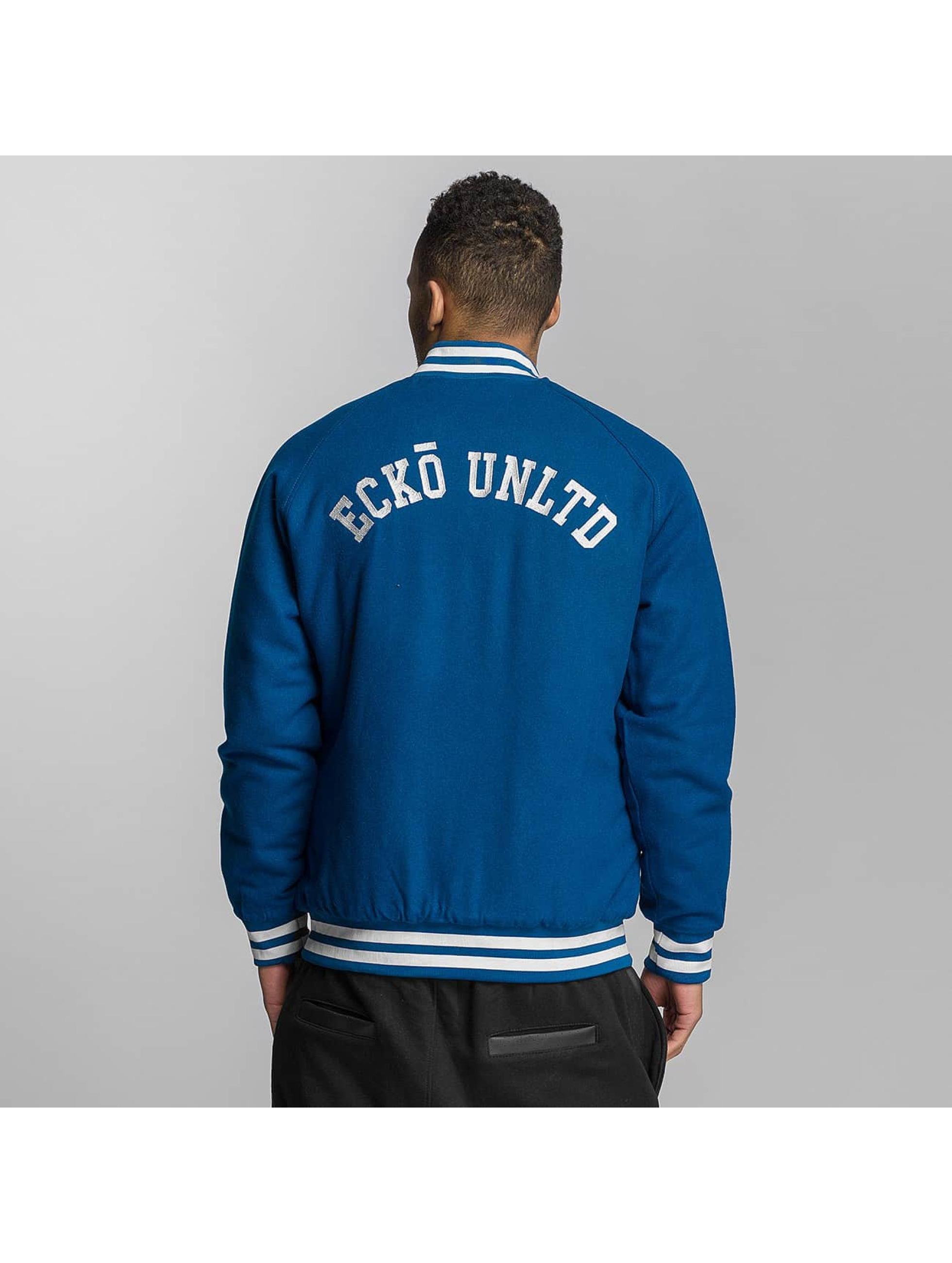 Ecko Unltd. Basebalové bundy JECKO modrá