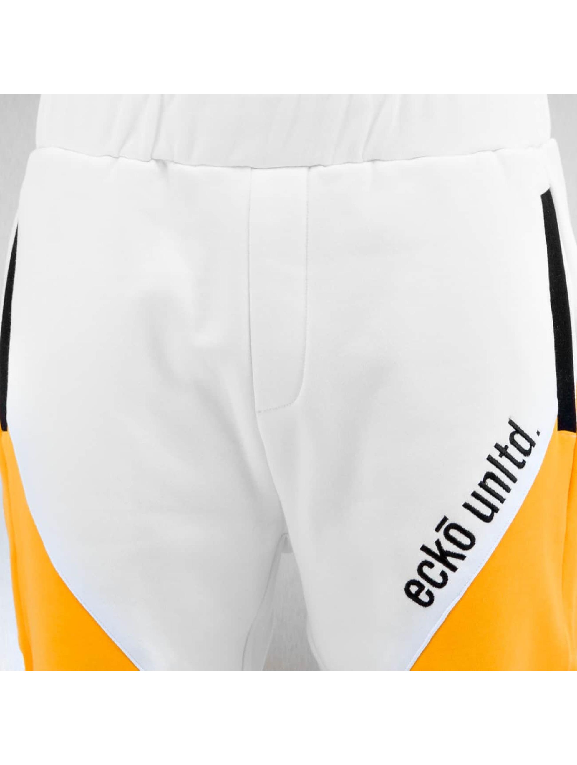 Ecko Unltd. Joggingbyxor Flashback vit