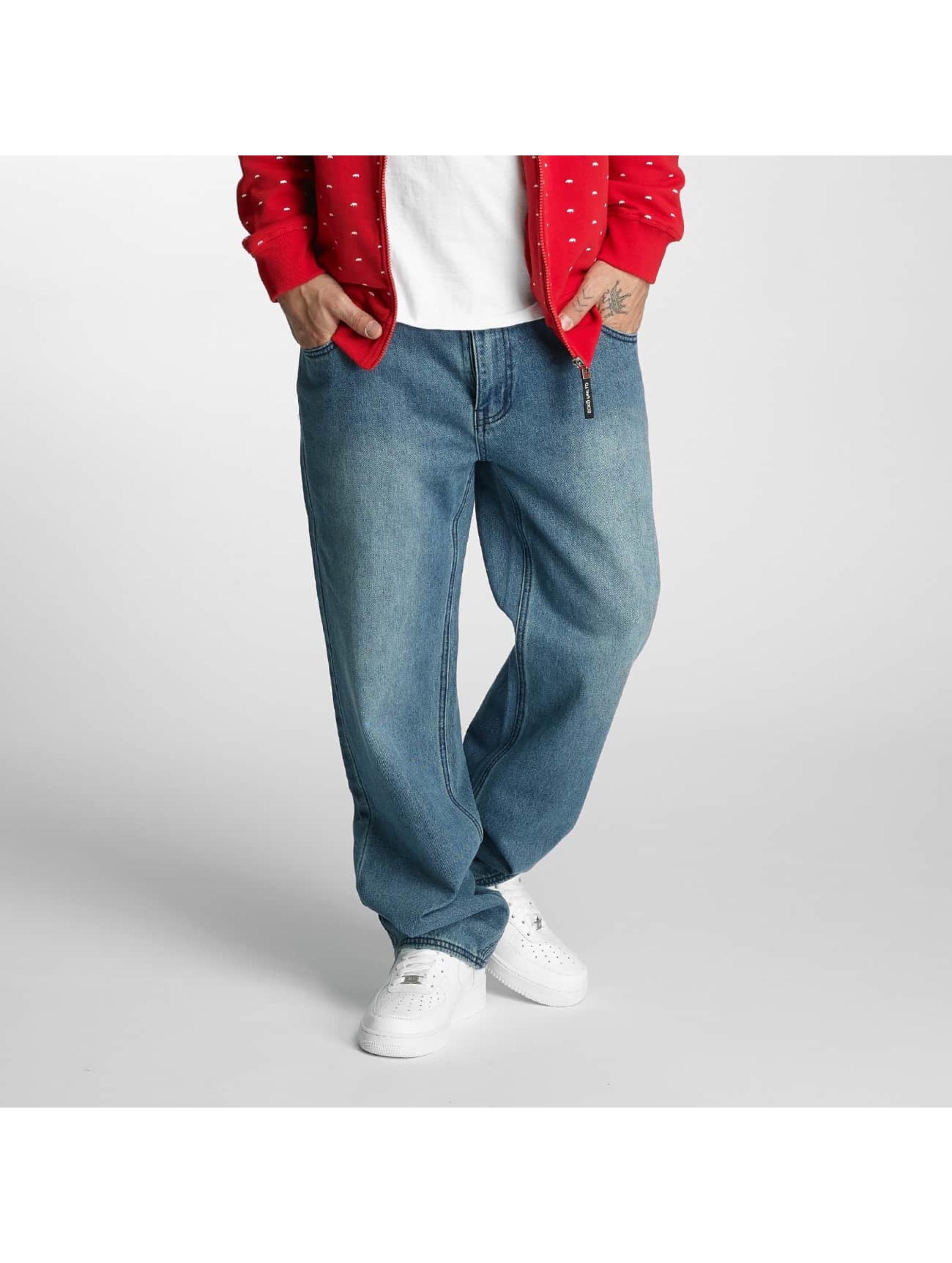 Ecko Unltd. Loose Fit Jeans Kashyyyk blau