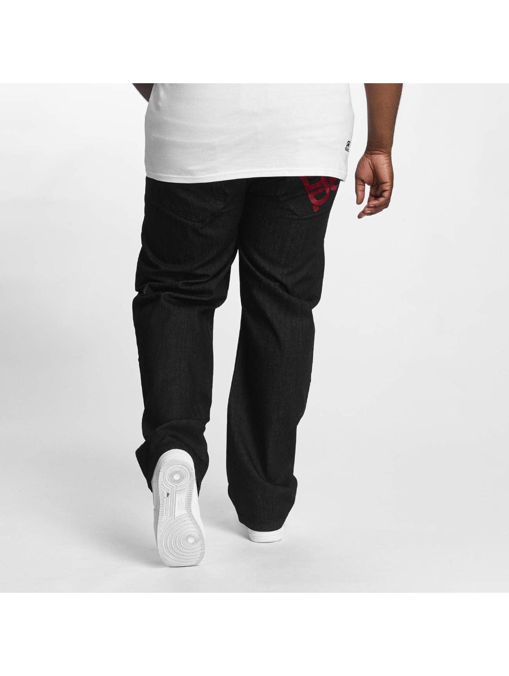 Ecko Unltd. Loose Fit Jeans Gravity czarny